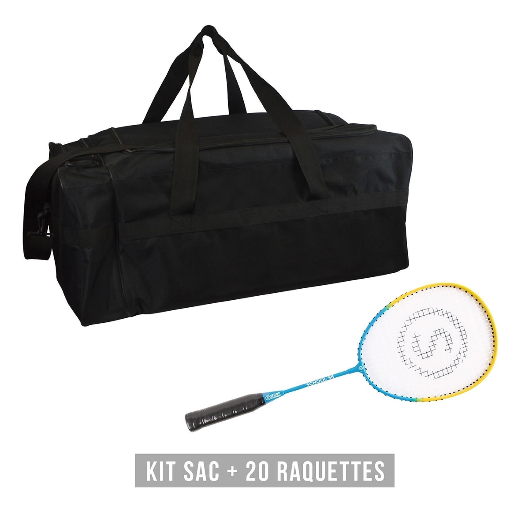 Kit snowshoes (bag + 20 snowshoes) child Sporti France School 58