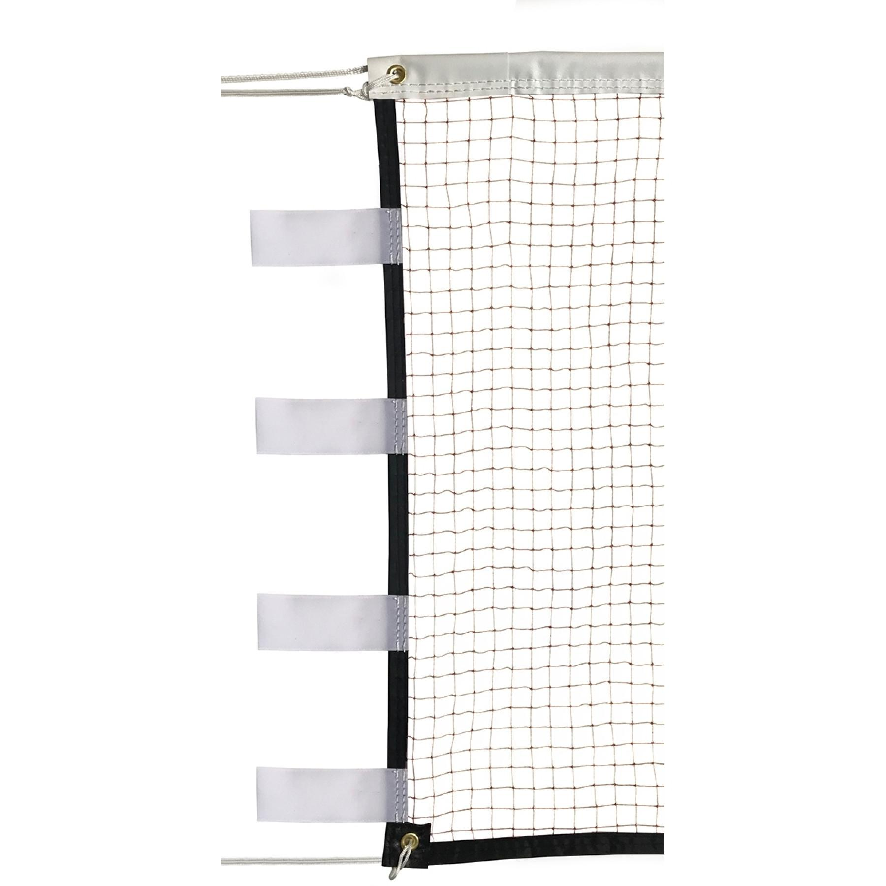 Badminton competition net with velcro fastener 19mm, 1.6mm Sporti France
