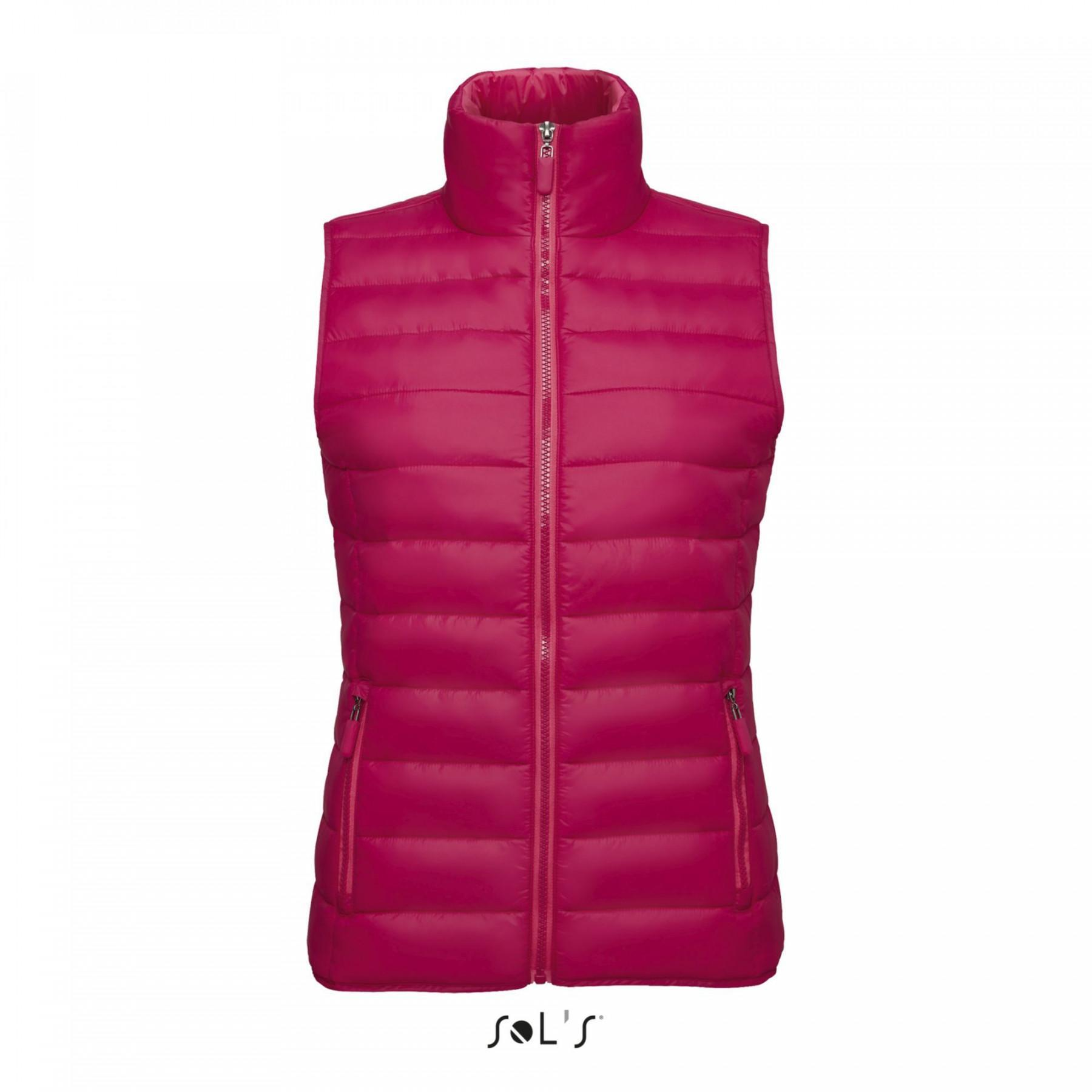Sol's Wave Sleeveless Jacket for Women