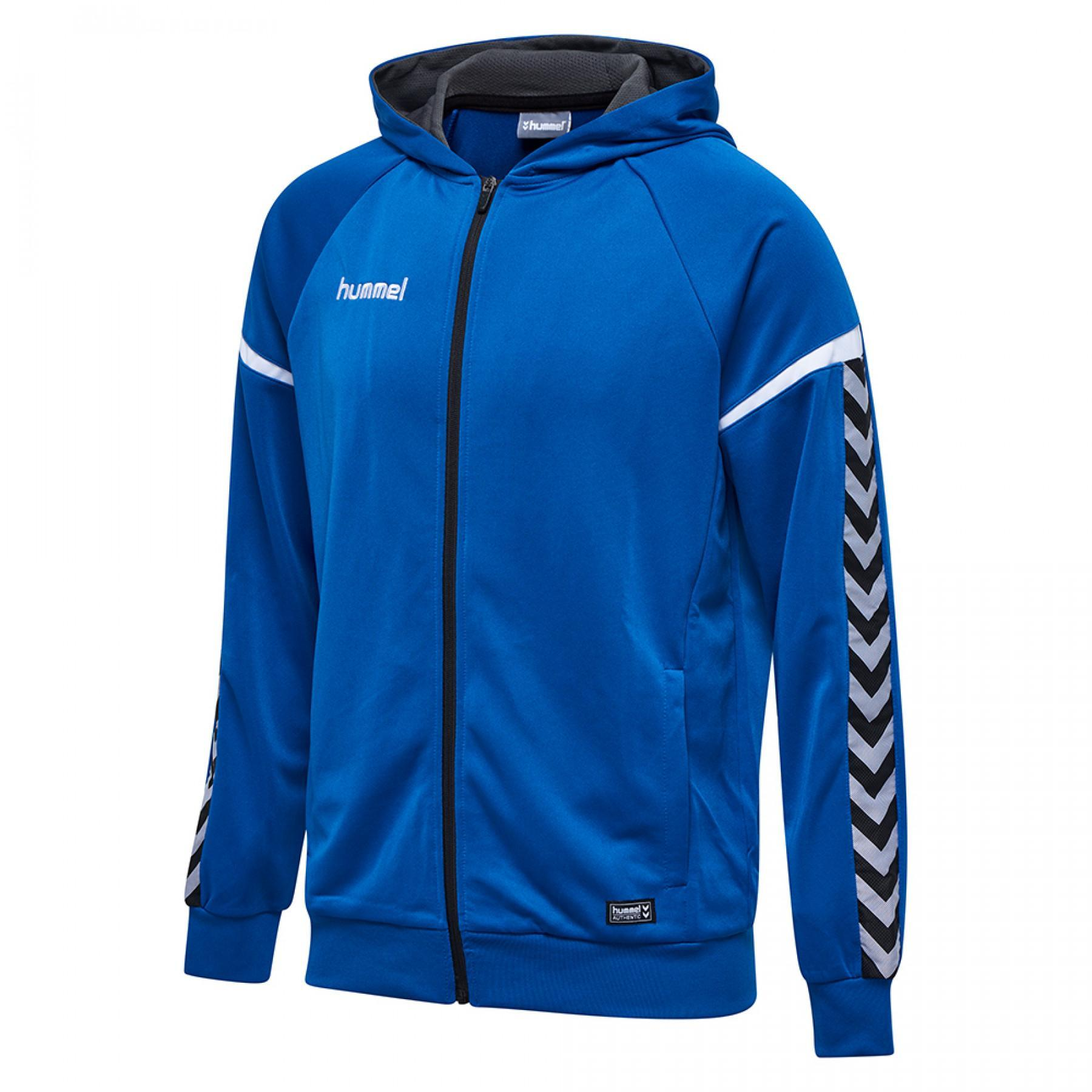 Hummel sweatshirt zip hoodie auth load