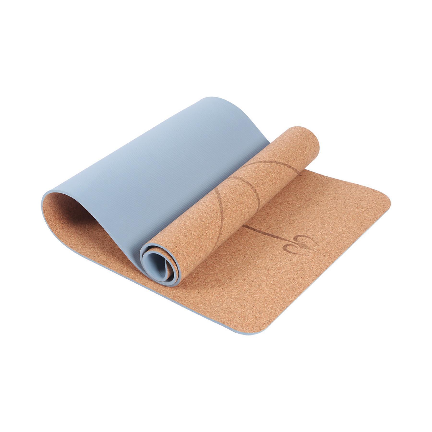 Yoga mat made of cork Sporti France