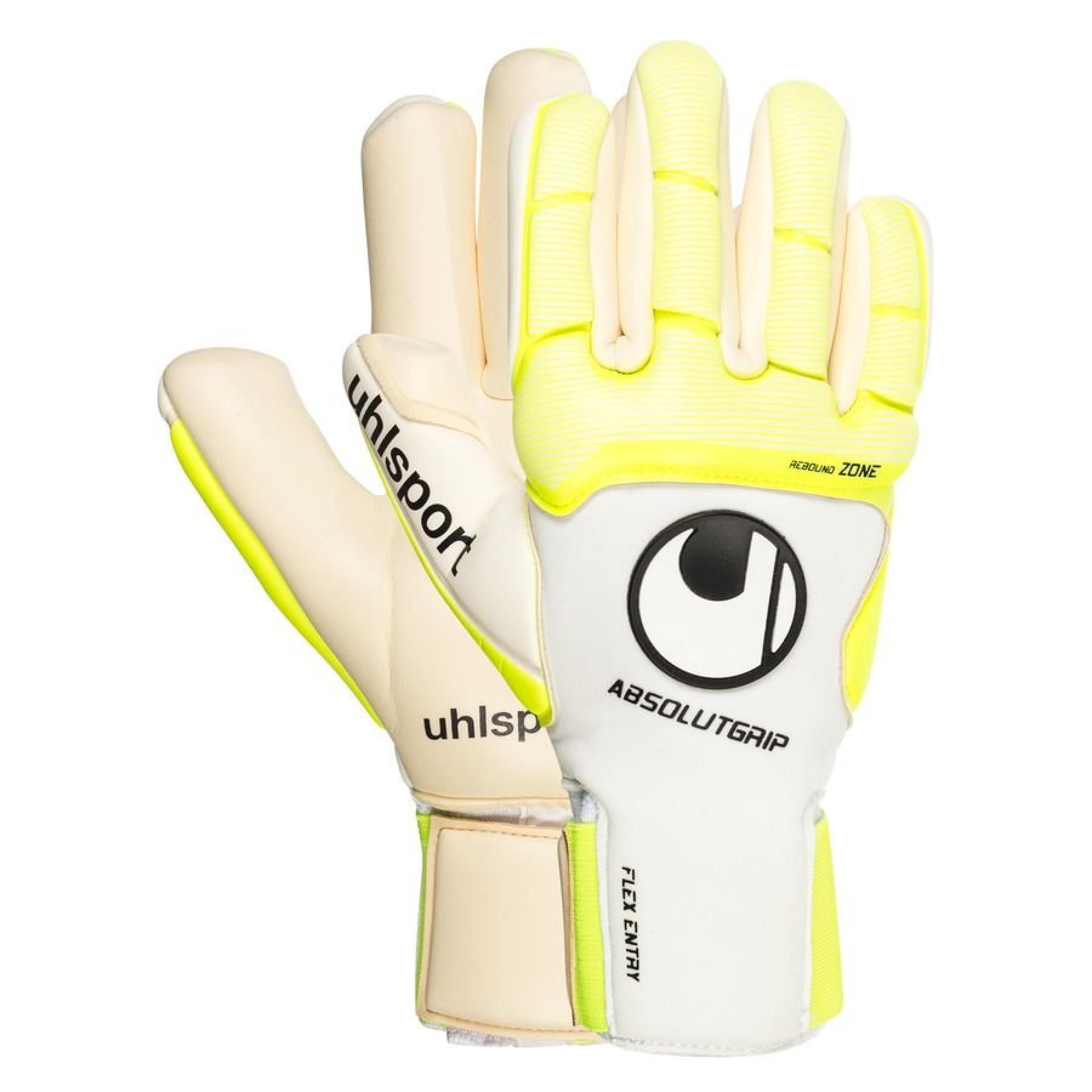 Goalkeeper gloves Uhlsport Pure Alliance AbsolutGrip Finger Surround