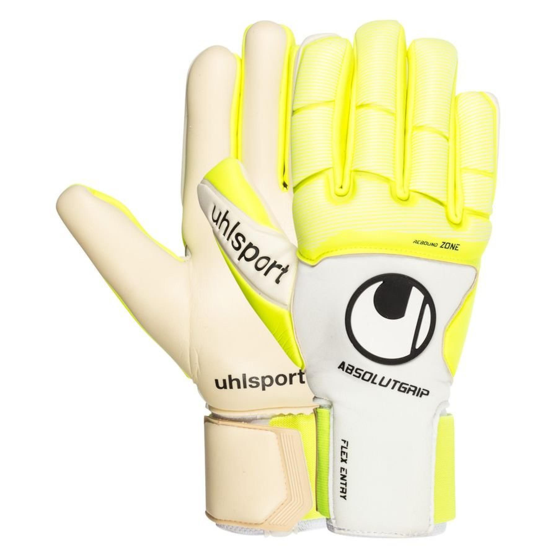 Goalkeeper gloves Uhlsport Pure Alliance AbsolutGrip HN
