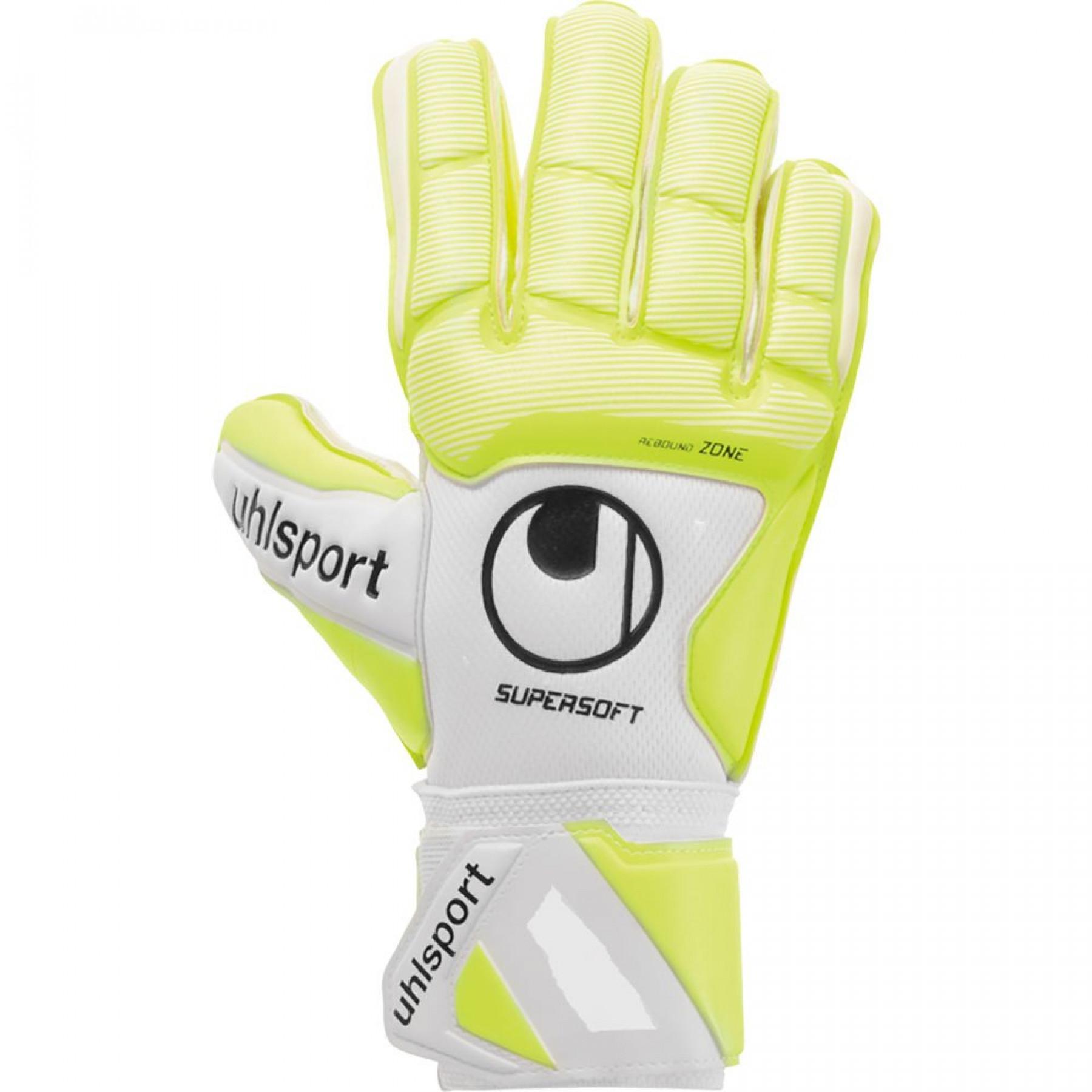 Goalkeeper gloves Uhlsport Pure Alliance Supersoft