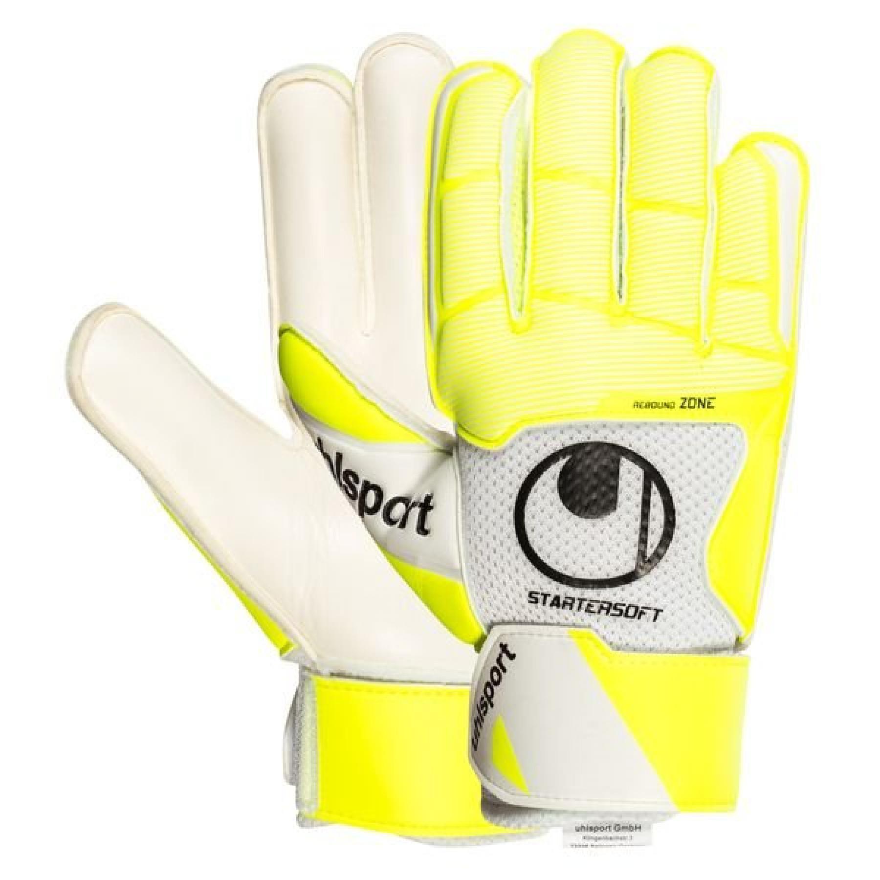 Goalkeeper gloves Uhlsport Pure Alliance Starter Soft