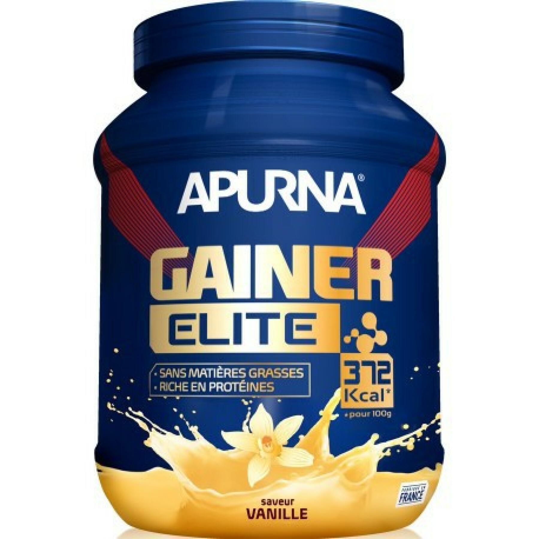 Pot gainer elite Apurna Vanille – 1100g