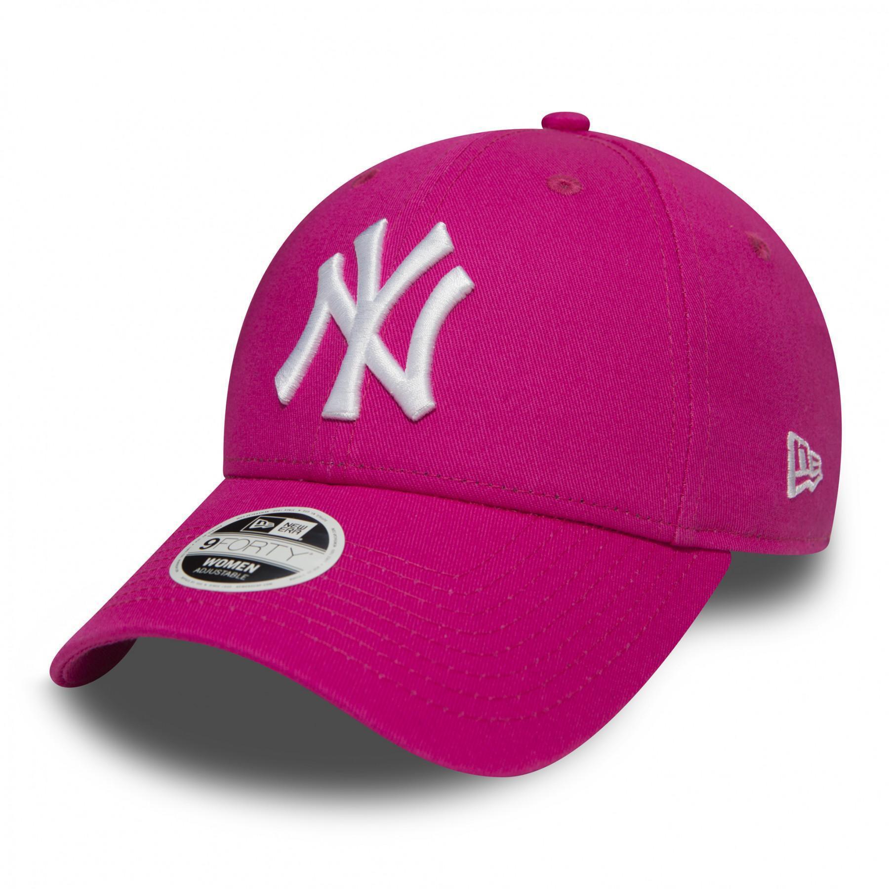Cap New Era Cap New Era pink woman Fashion essential 9forty New York Yankees