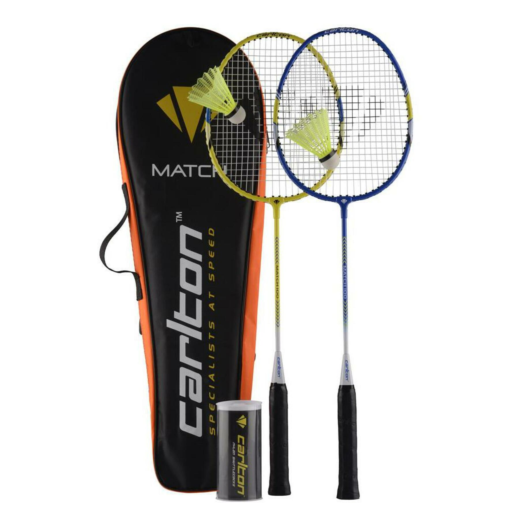 Set of 2 rackets Carlton