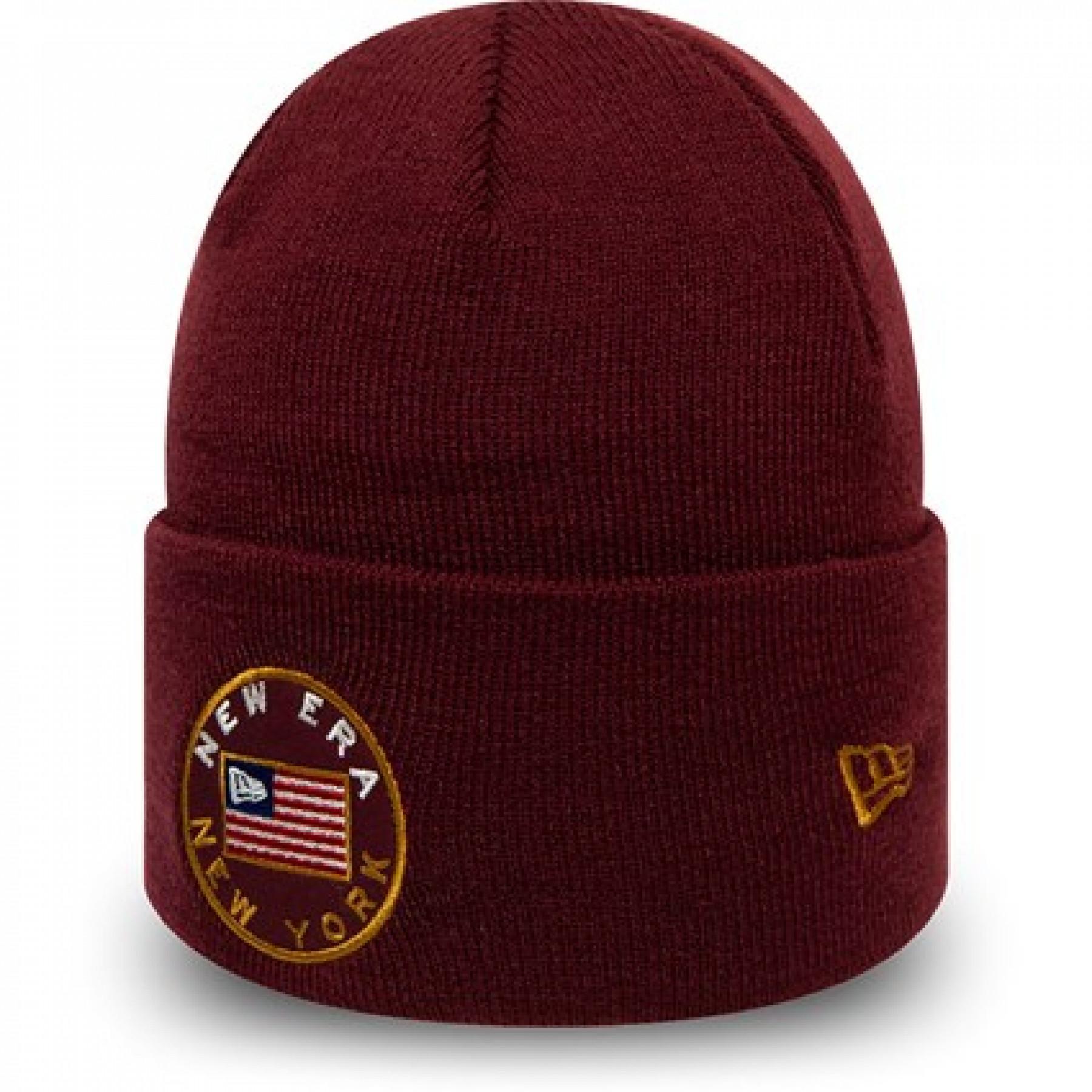 Cap New Era Flagged Cuff