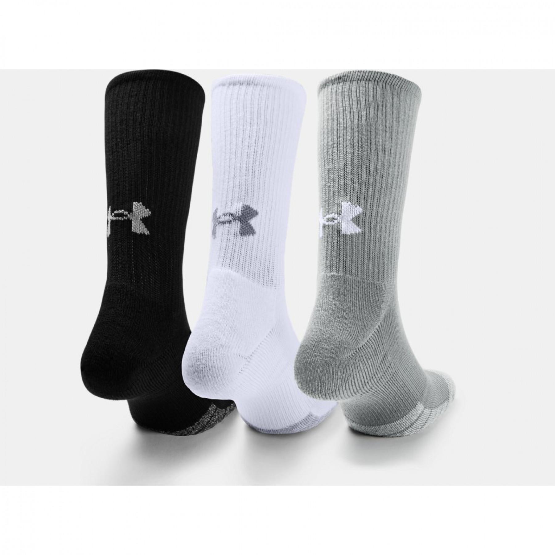 Set of 3 pairs of knee socks Under Armour HeatGear® Crew