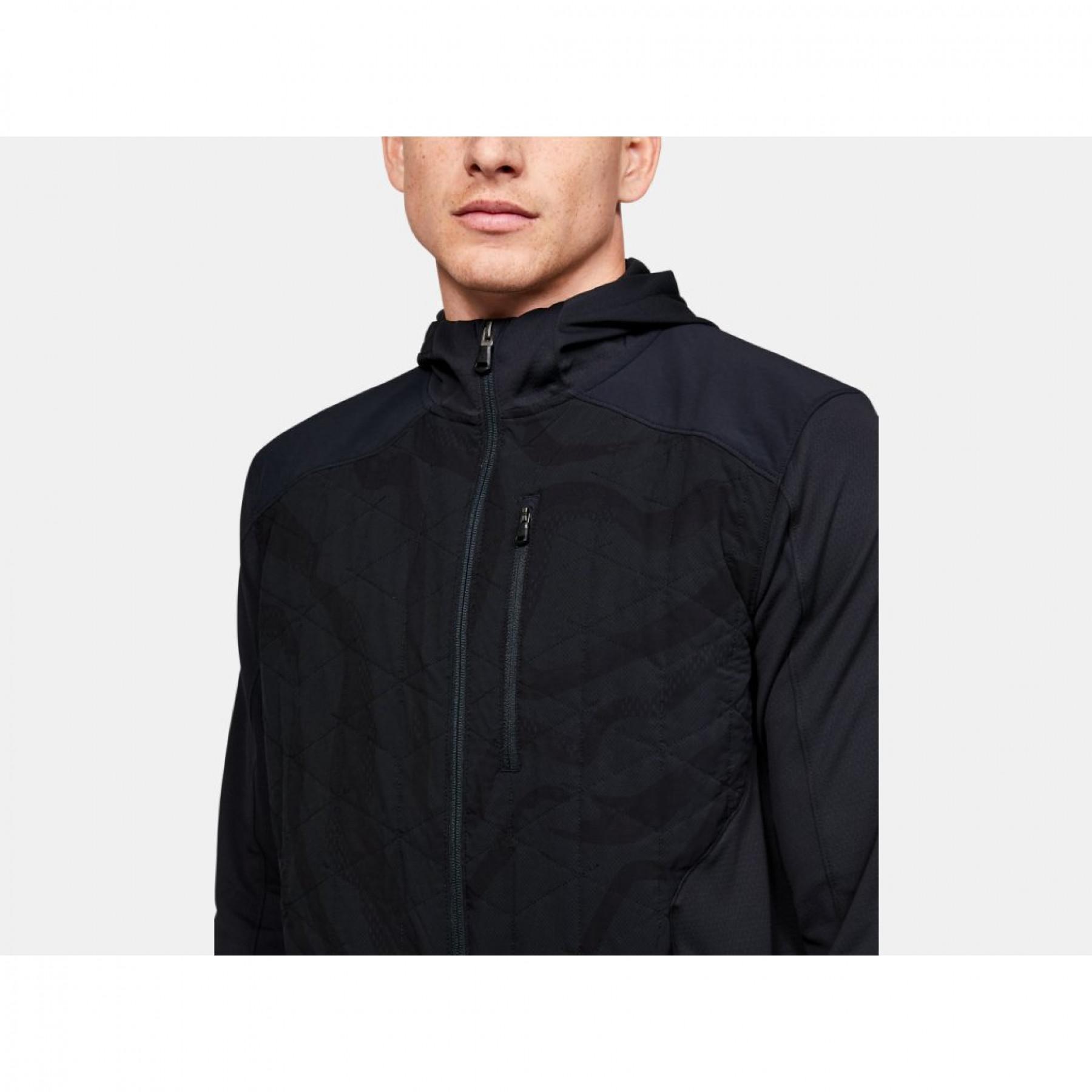 Under Armour ColdGear® Hybrid Reactor Lite Print Jacket
