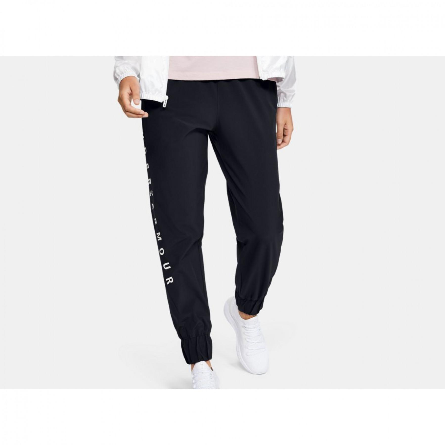 Women's trousers Under Armour Woven Branded