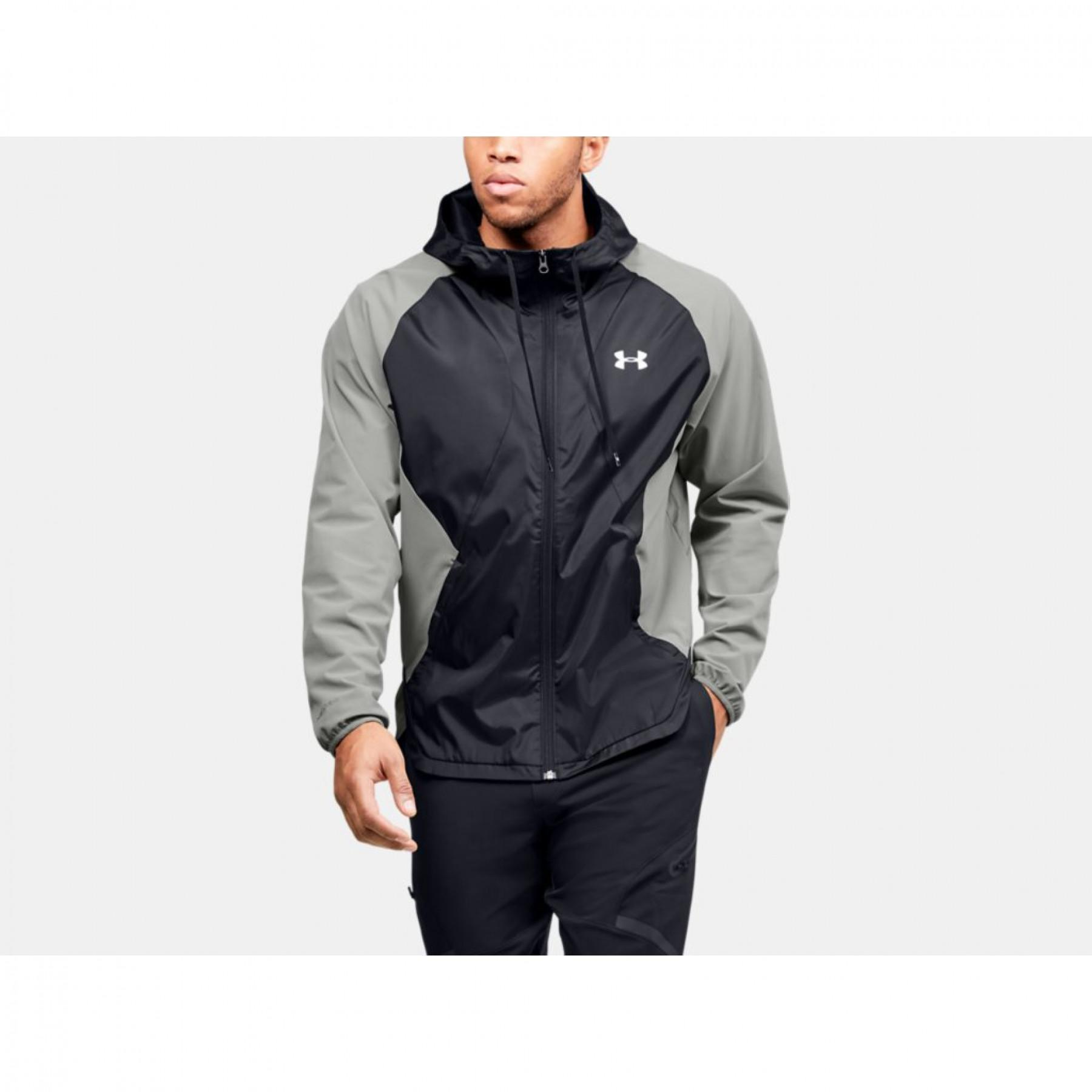 Under Armour Stretch Woven Full Zip Jacket
