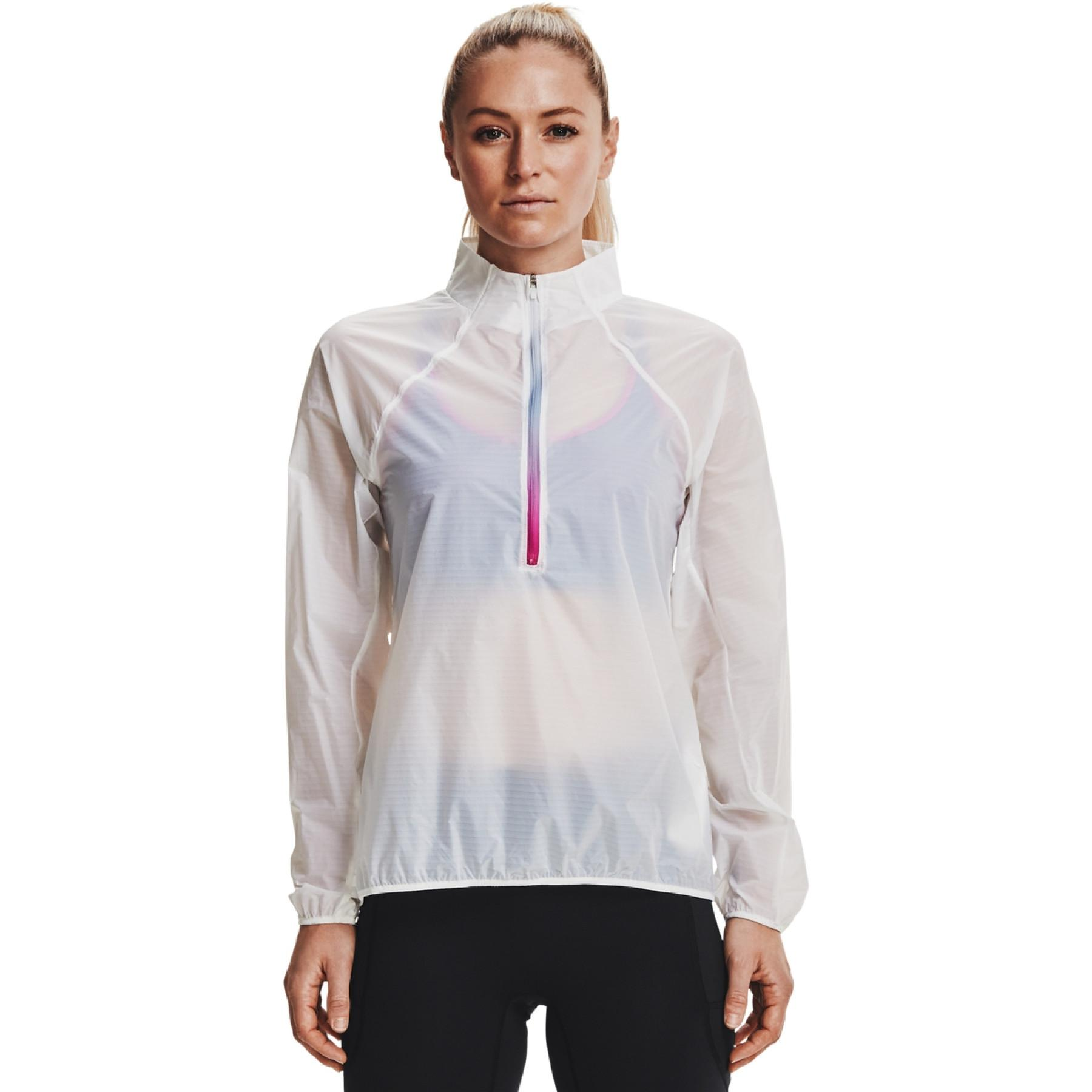 Under Armour women's ½ zip Flight jersey