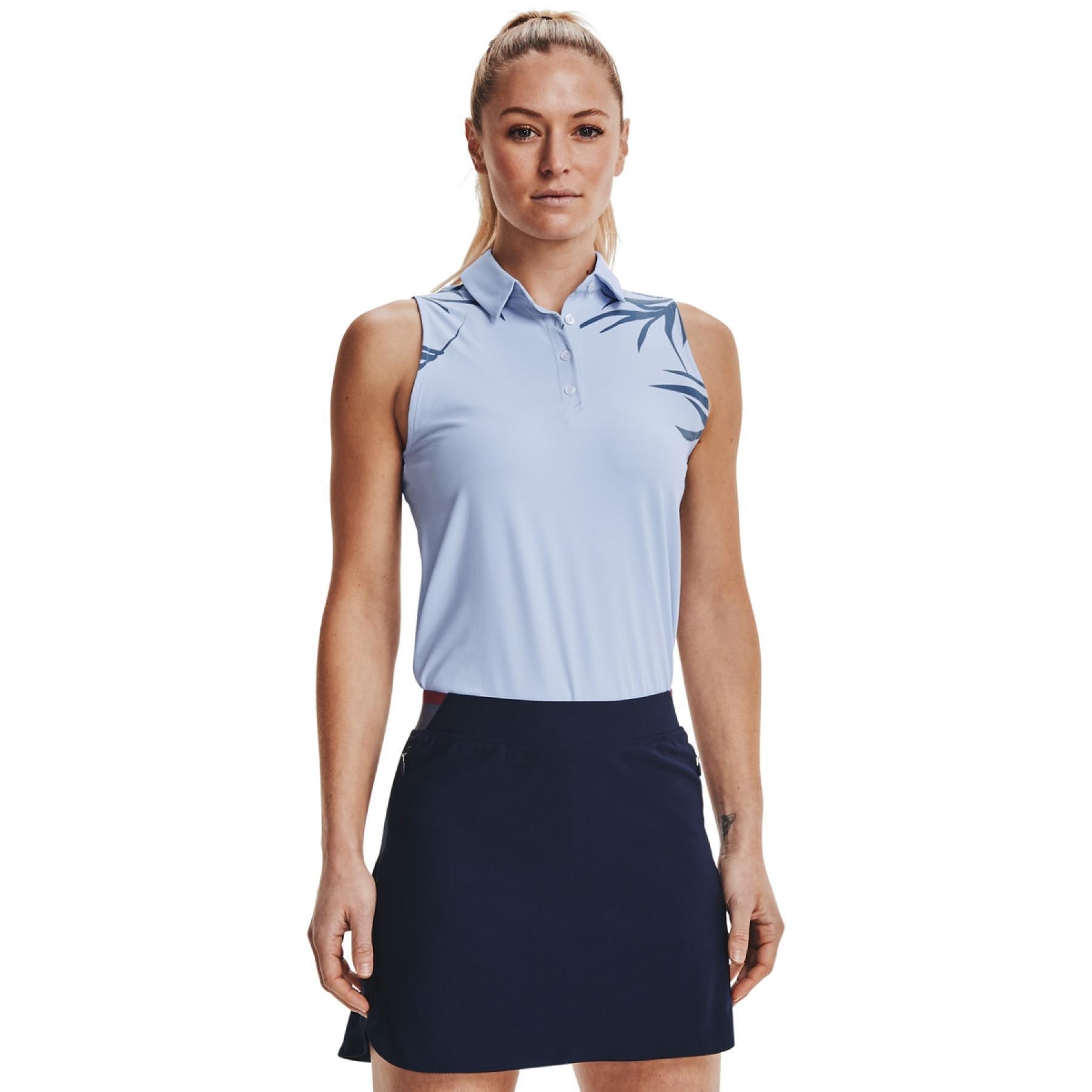 Women's Under Armour sleeveless polo shirt iso-chill