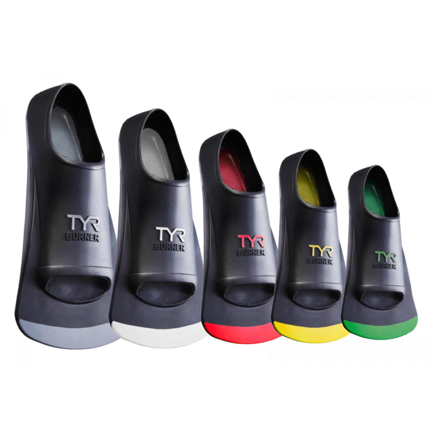 Swimming flippers TYR Burner fins 2.0