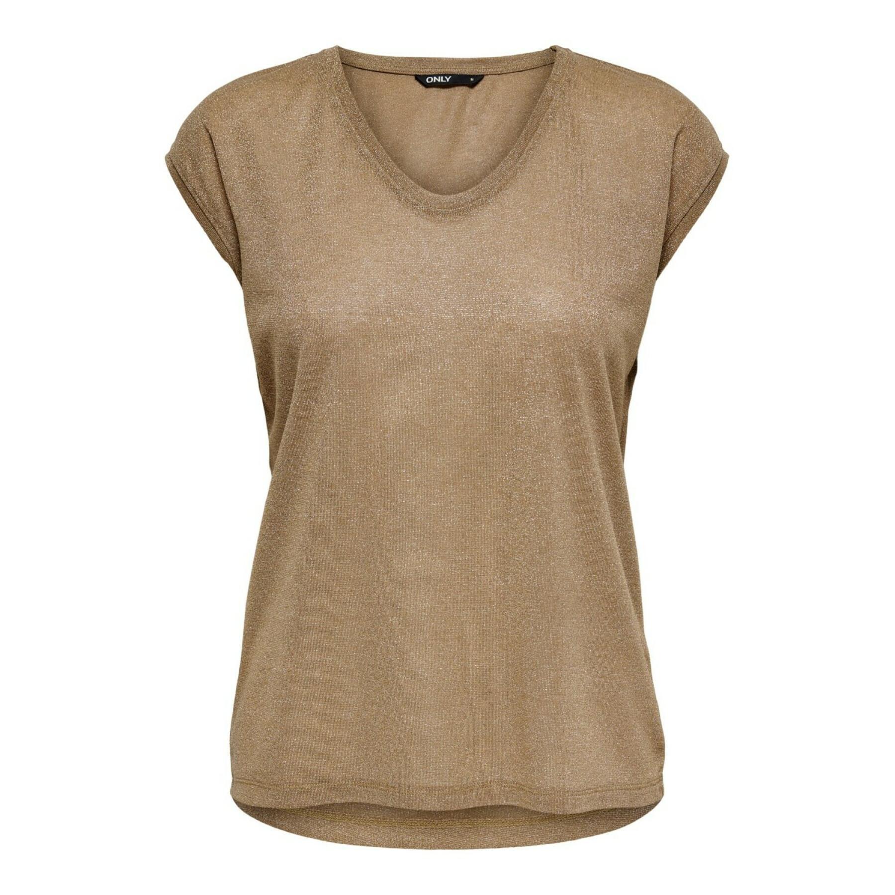 Women's T-shirt Only onlsilvery