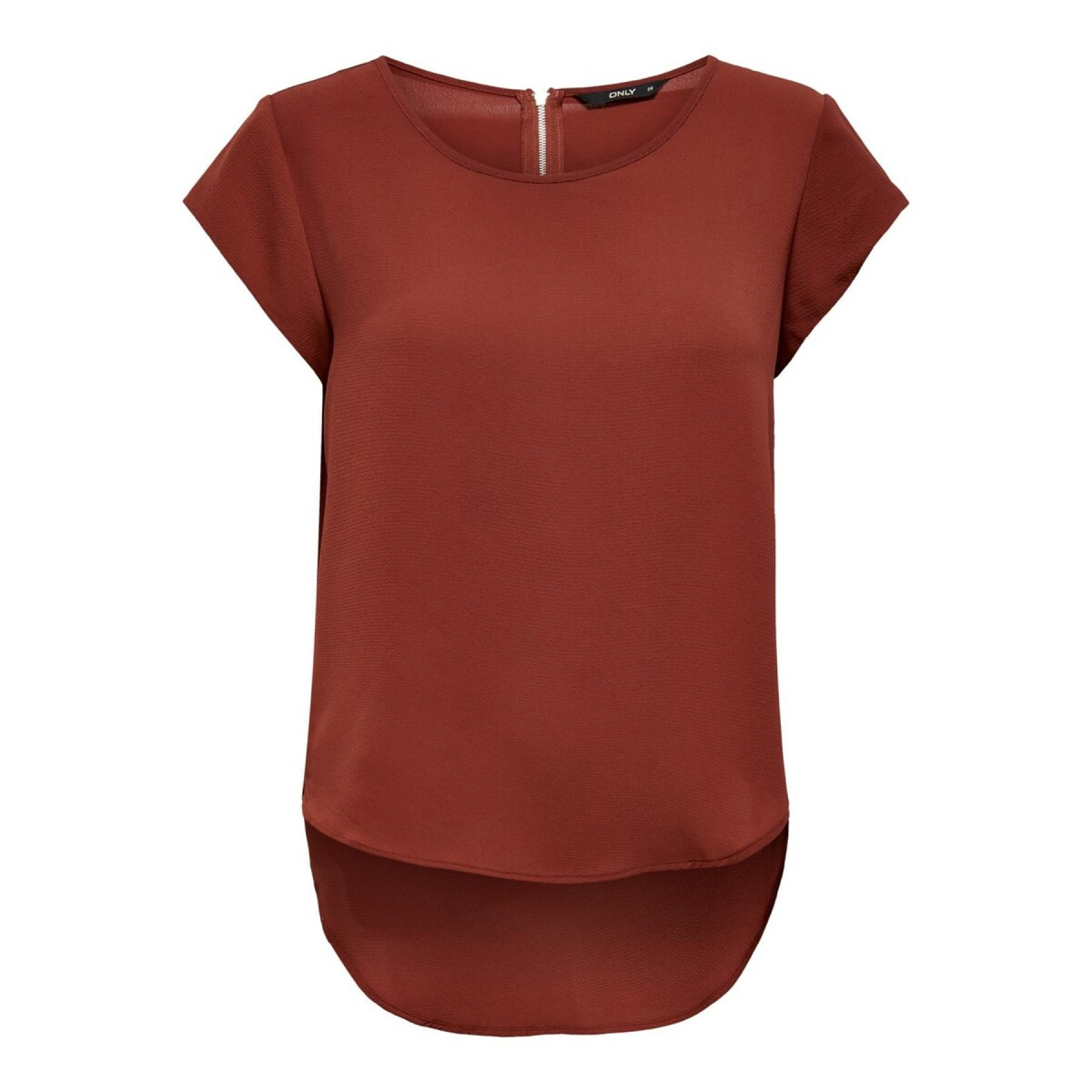 Women's T-shirt Only short sleeves Vic solid