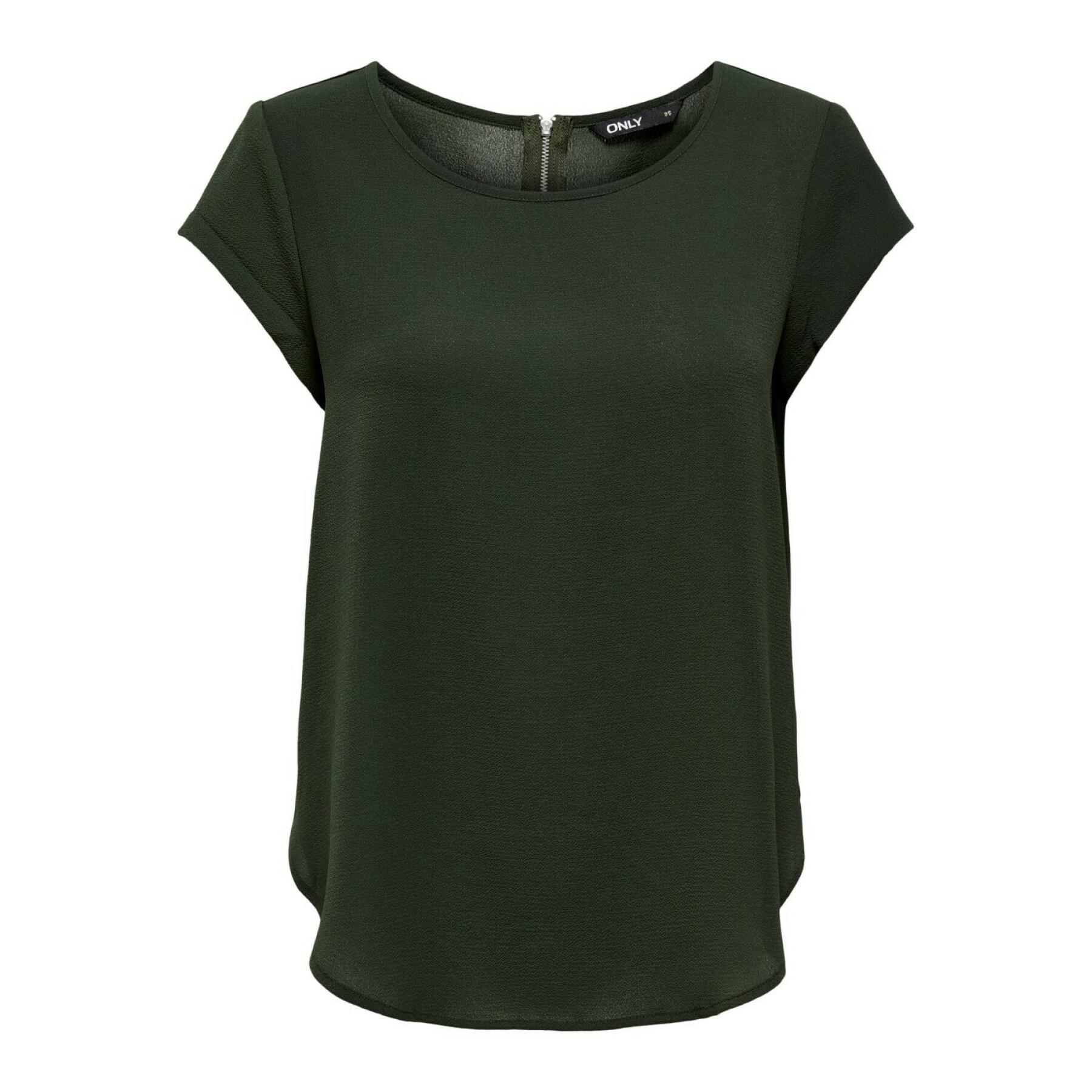 Women's T-shirt Only onlvic solid ptm