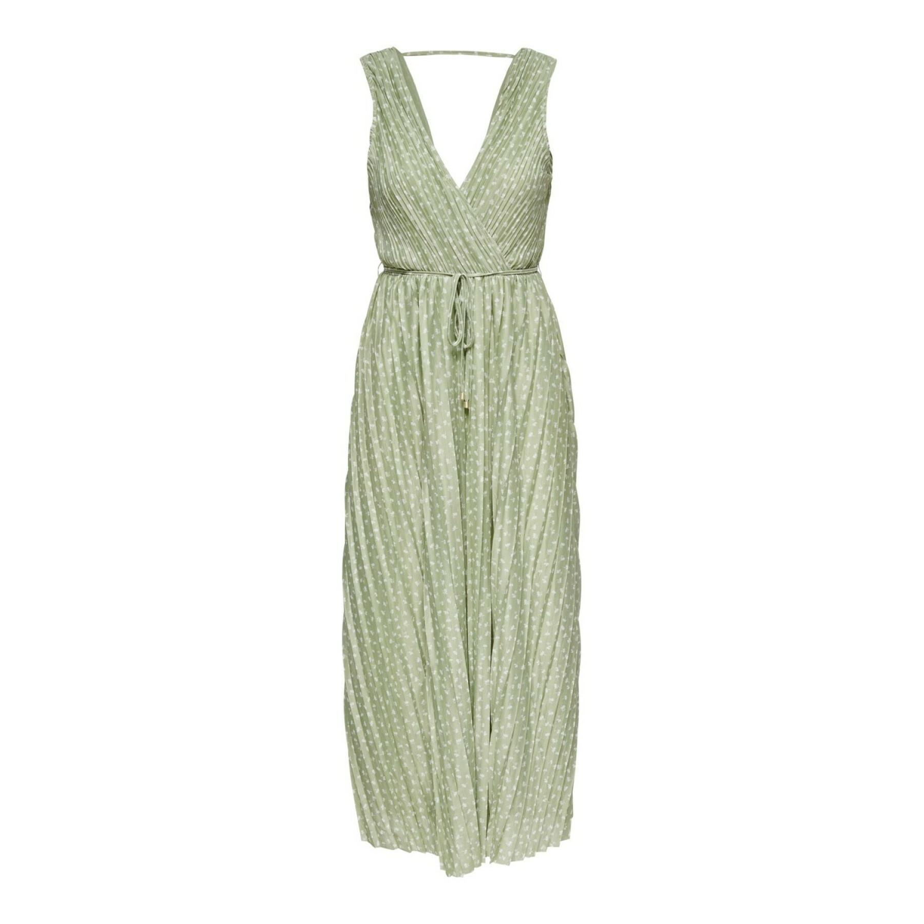 Sleeveless dress for women Only onlelema maxi