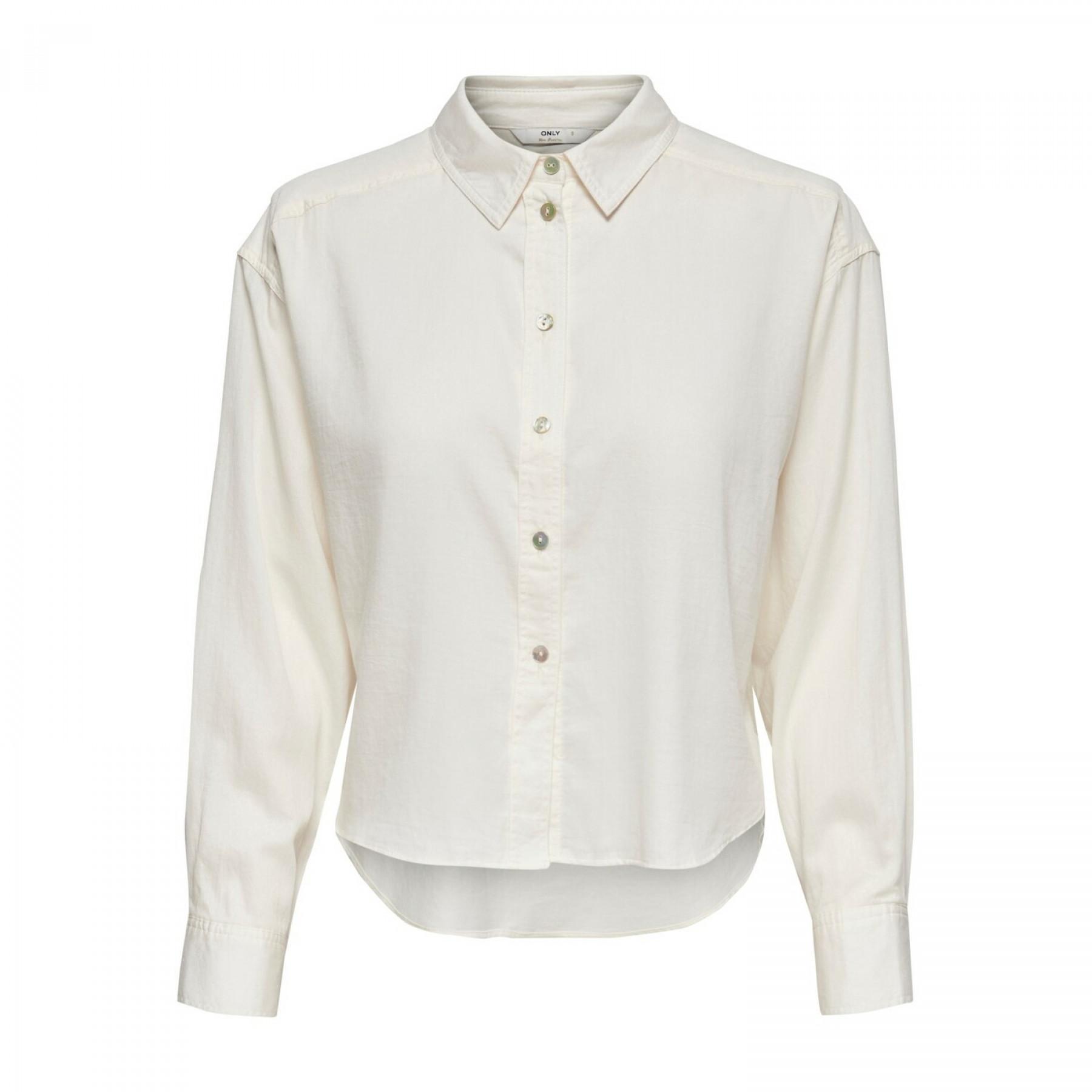 Women's long sleeve shirt Only onlkim