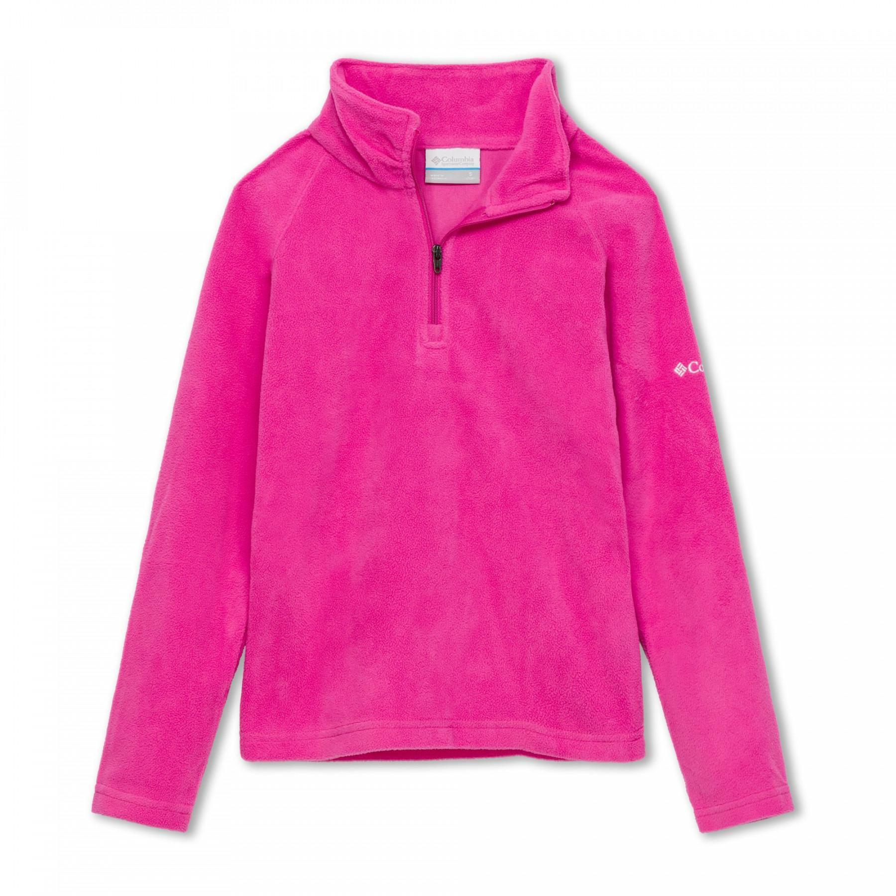 Columbia Glacial Girl's 1/2 zip sweatshirt