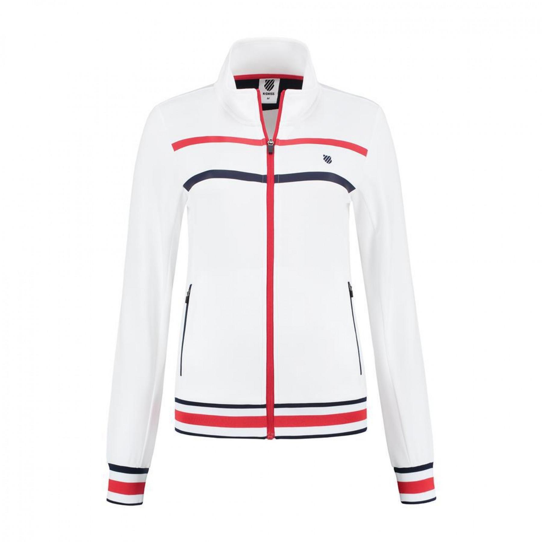 Women's jacket K-Swiss heritage sport training