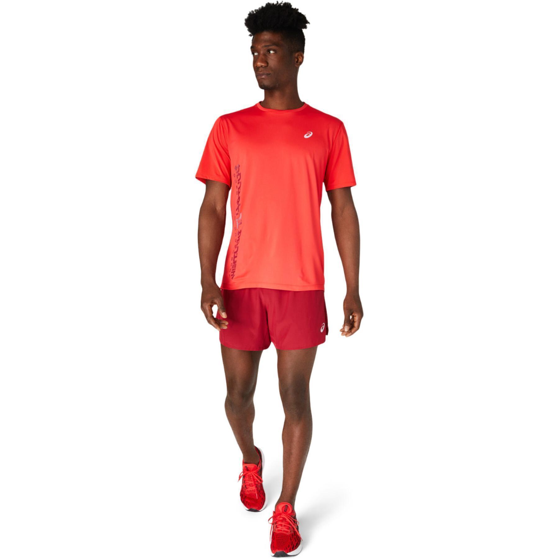 T-shirt Asics Smsb Run