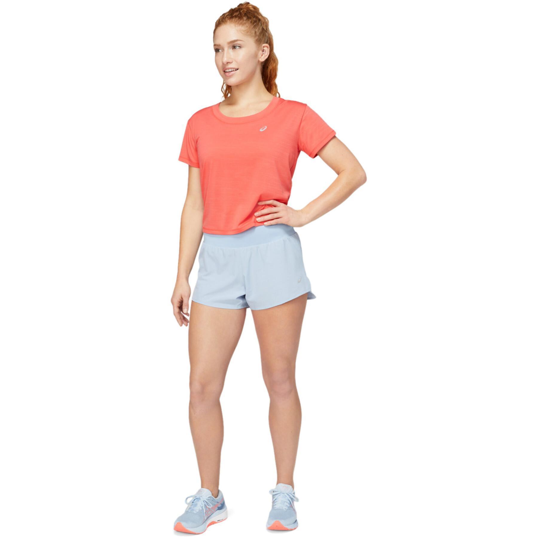 Women's T-shirt Asics Race Crop