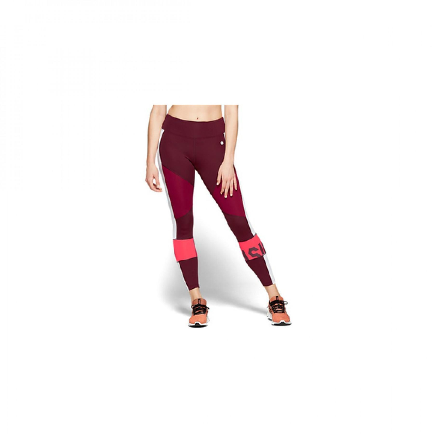 Women's trousers Asics color block cropped 2