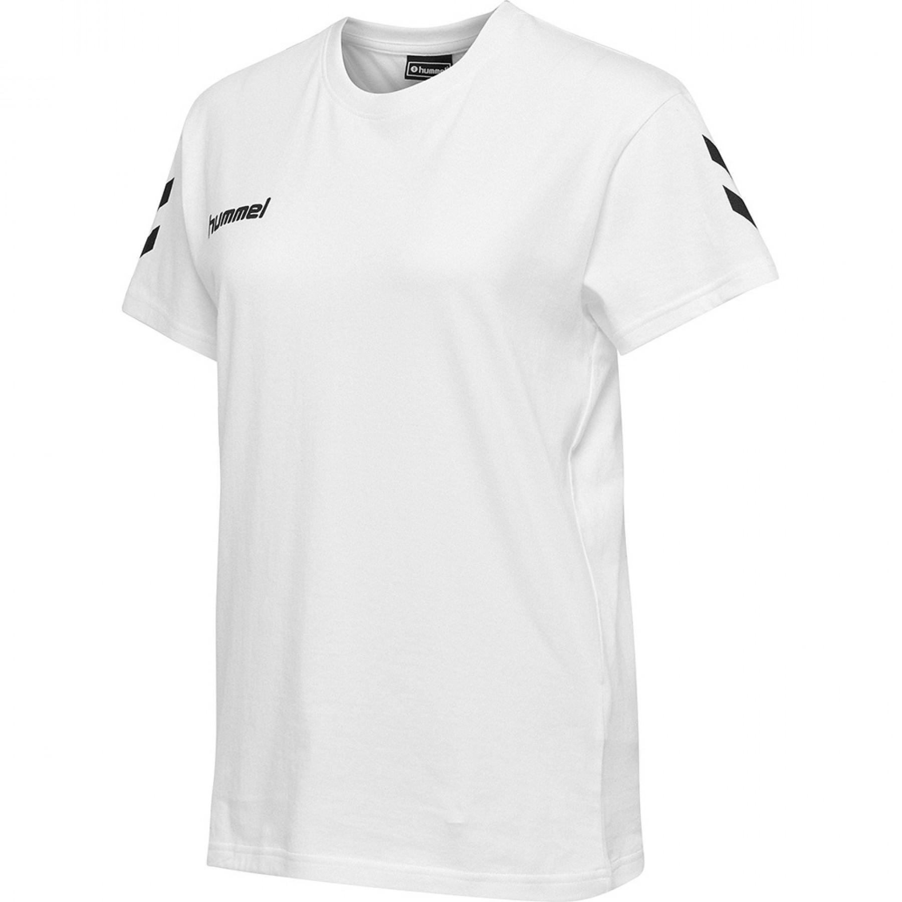 Women T-shirt Hummel hmlgo cotton