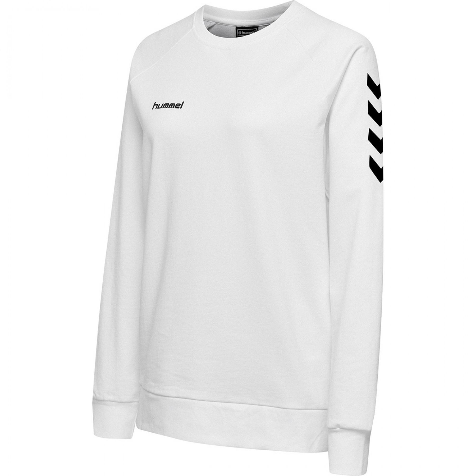 Sweatshirt woman Hummel hmlGO cotton
