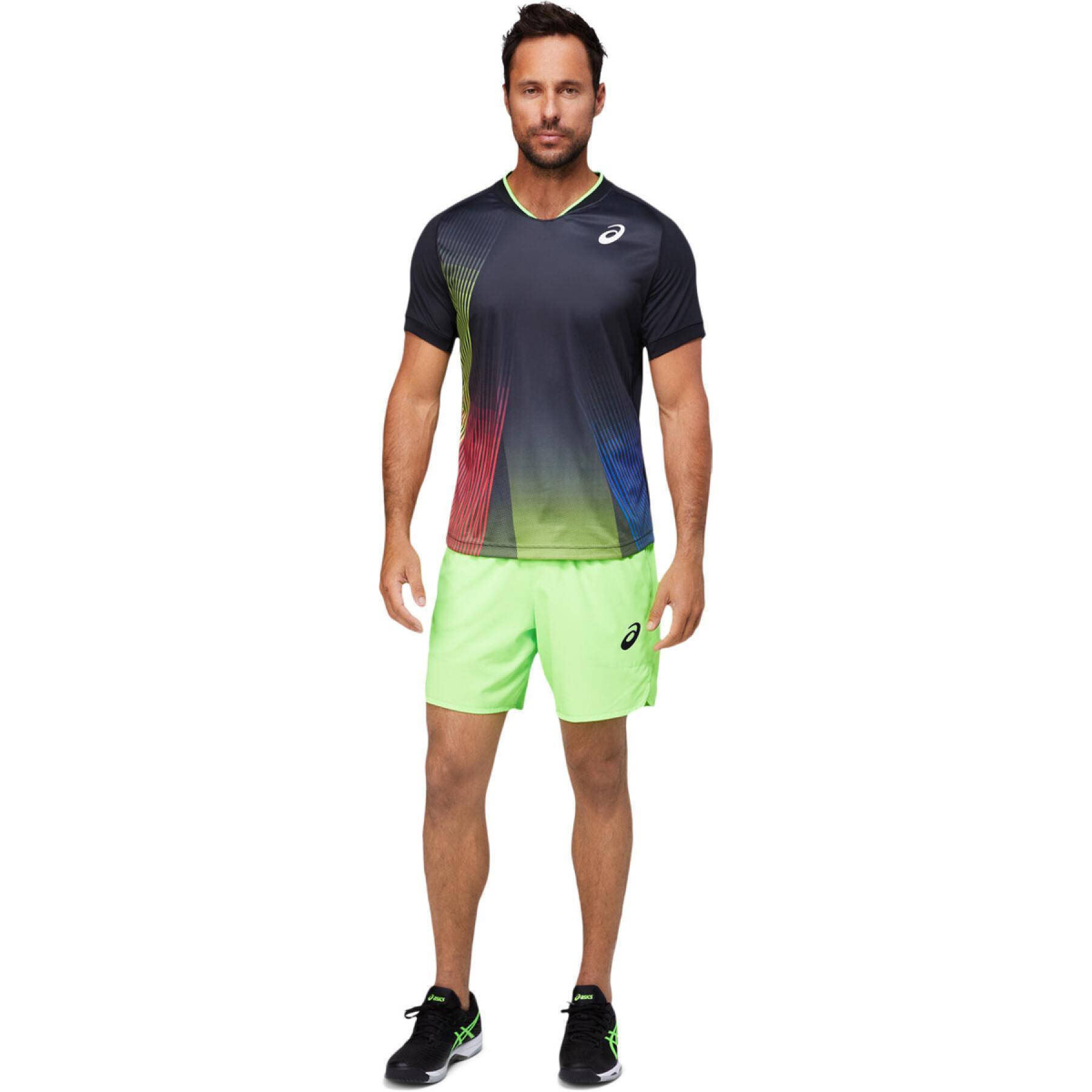 Sleeveless T-shirt Asics Men Match Graphic