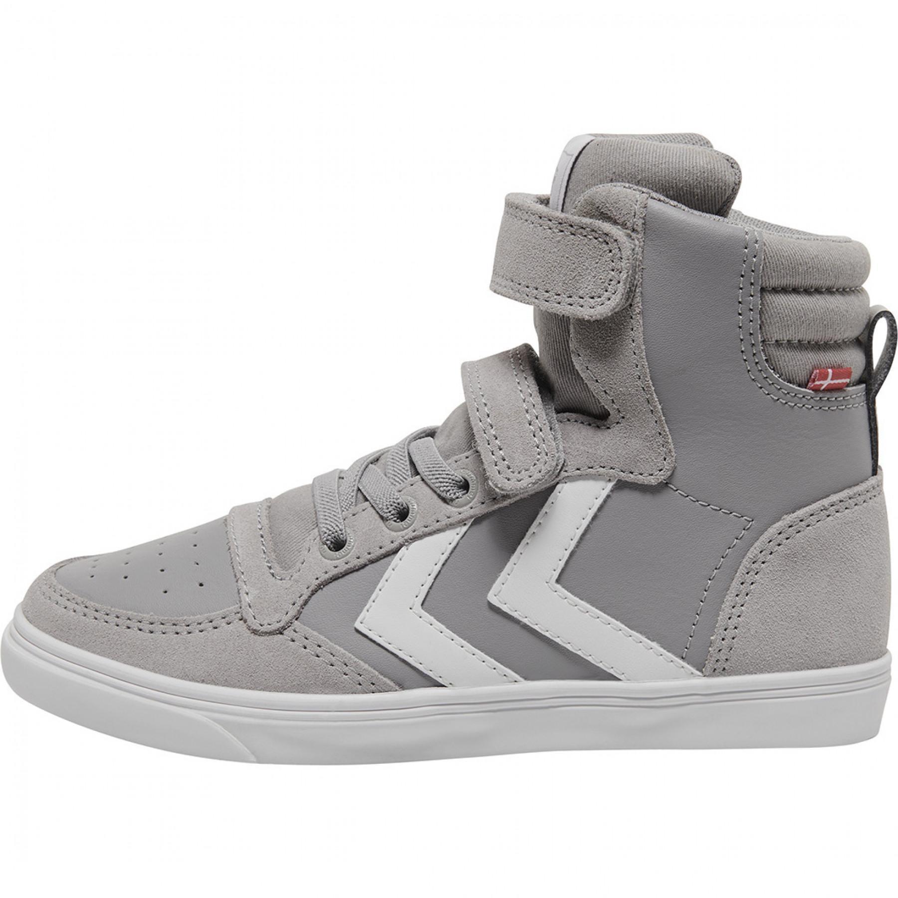 Junior Shoes Hummel slimmer stadil leather high