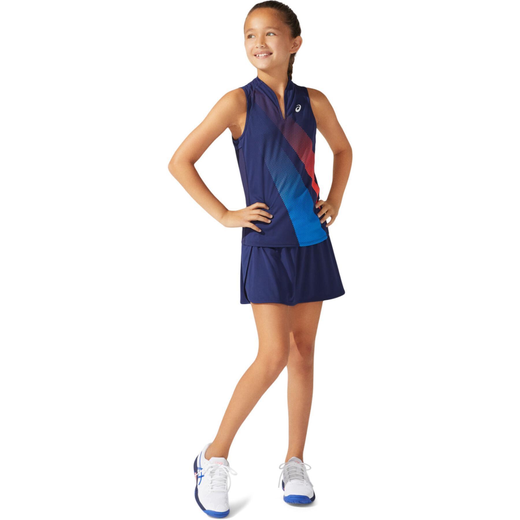 Children's tank top Asics Girls Tennis Graphic