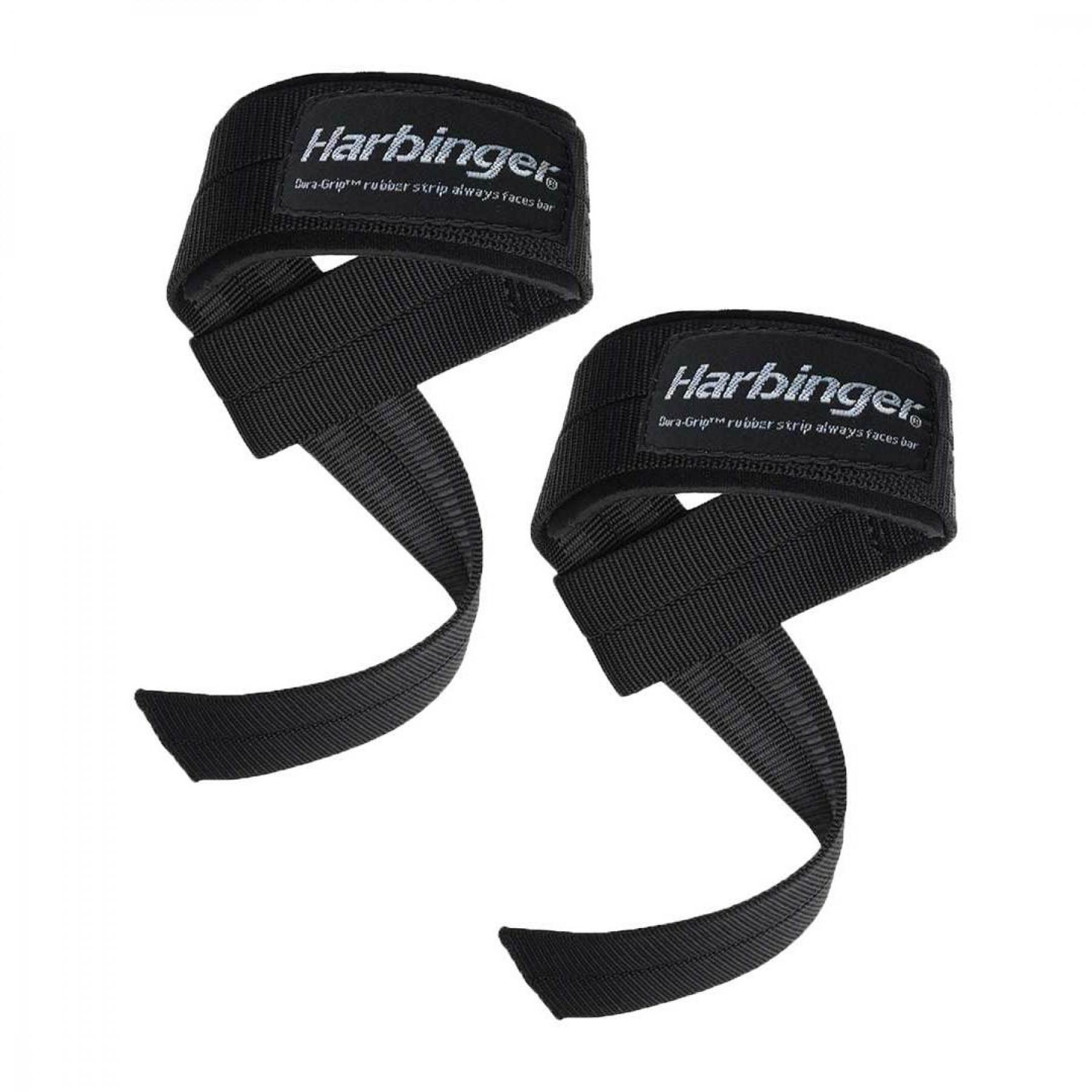 Wrist straps Harbinger Big Grip padded lifting straps