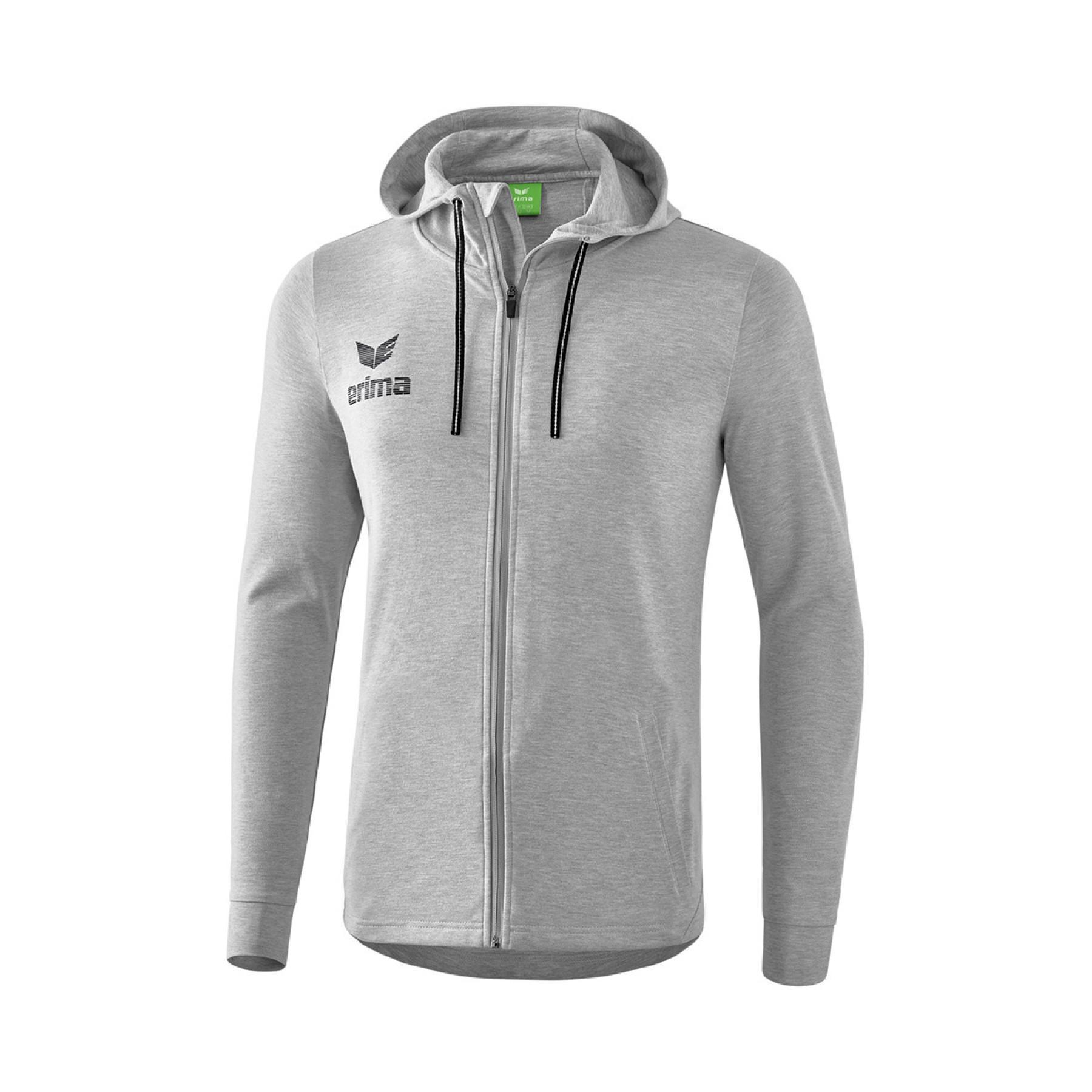 Jacket hoodie Erima Essential