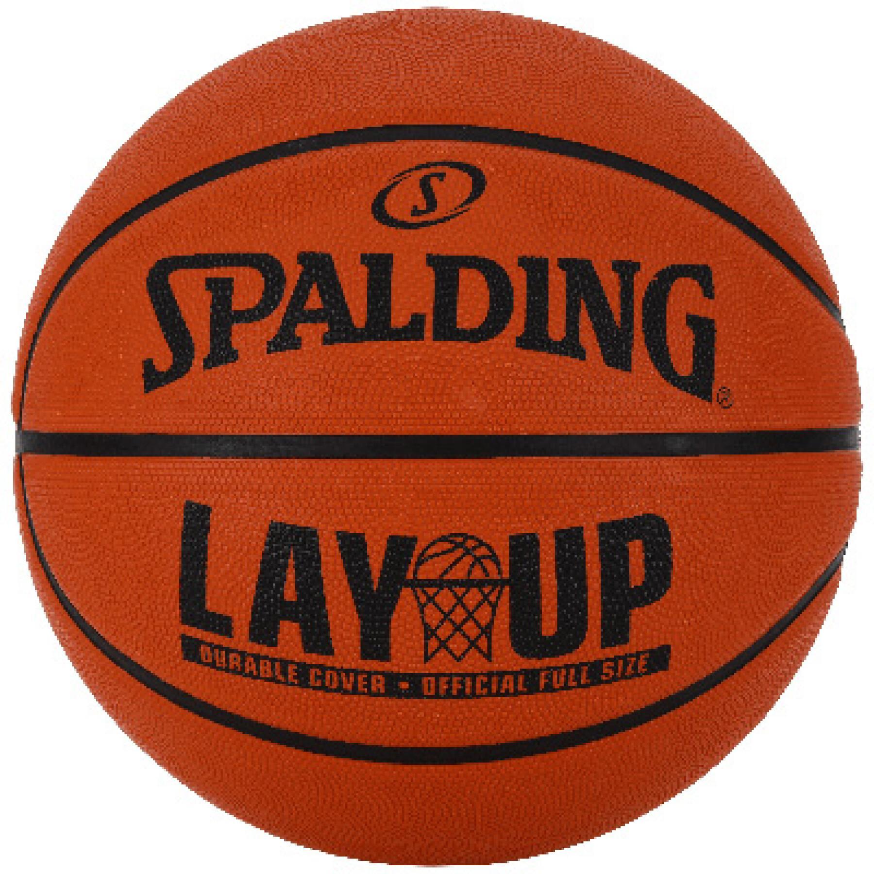 Basketball Spalding Layup