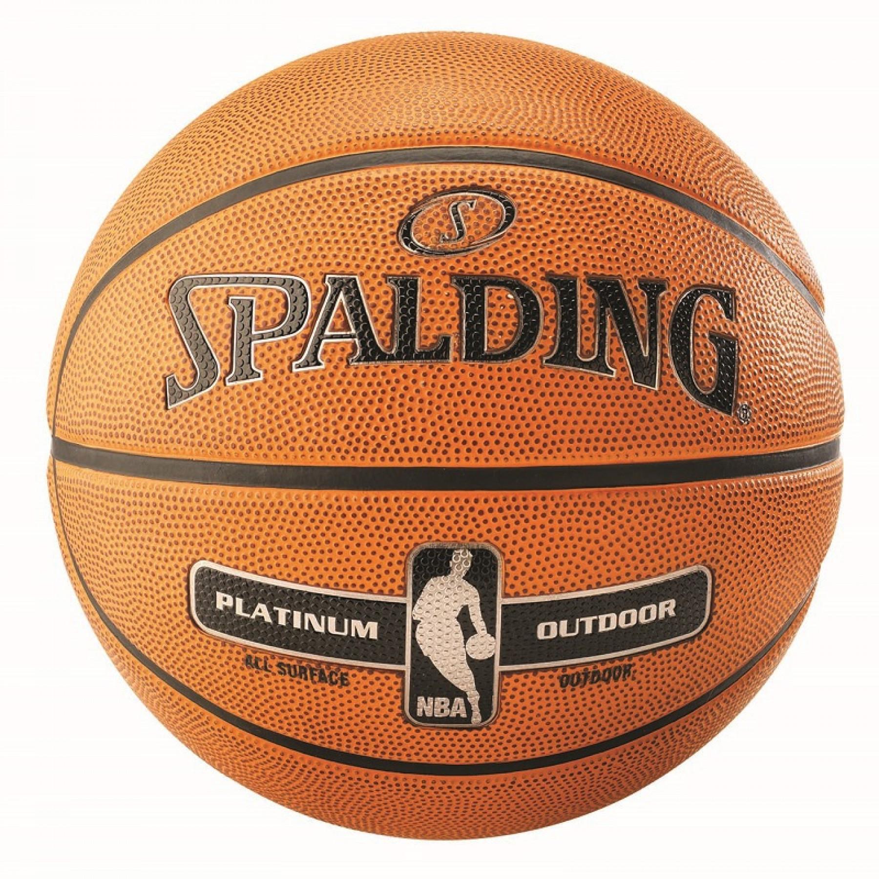 Balloon Spalding NBA Platinum Outdoor