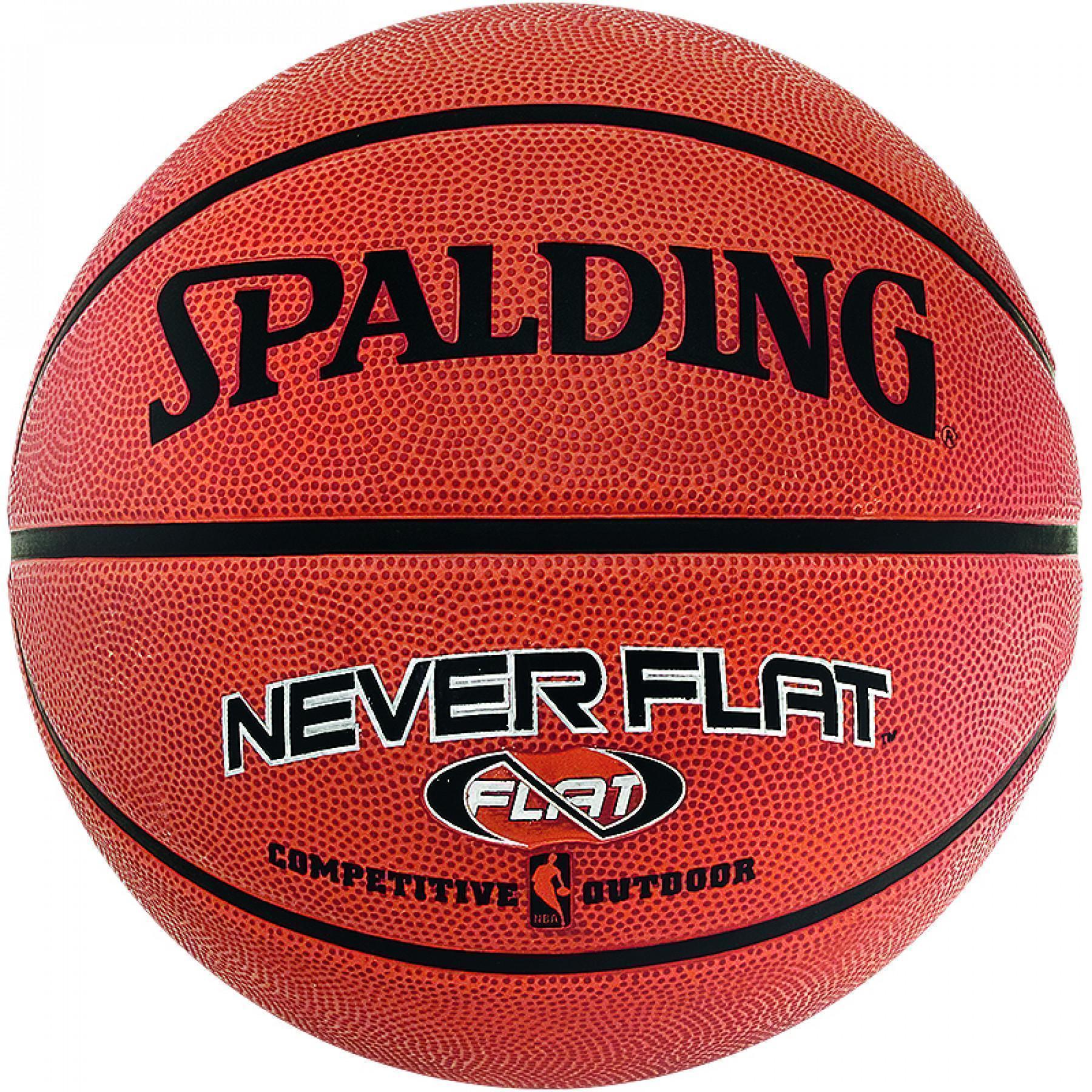 NBA Neverflat Outdoor Spalding Ball