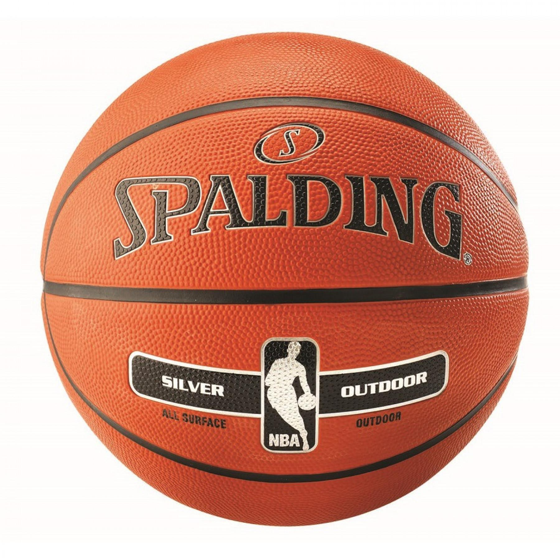 Balloon Spalding NBA Silver Outdoor