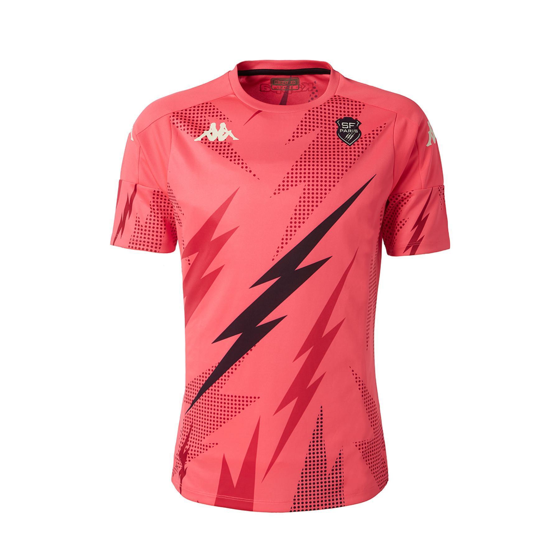 Warm-up T-shirt Stade Français 2020/21 aboupre pro 4