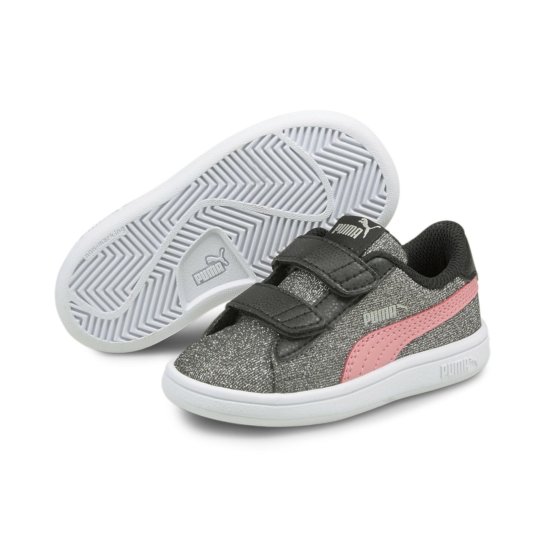Children's sneakers Puma Smash v2 Glitz Glam V