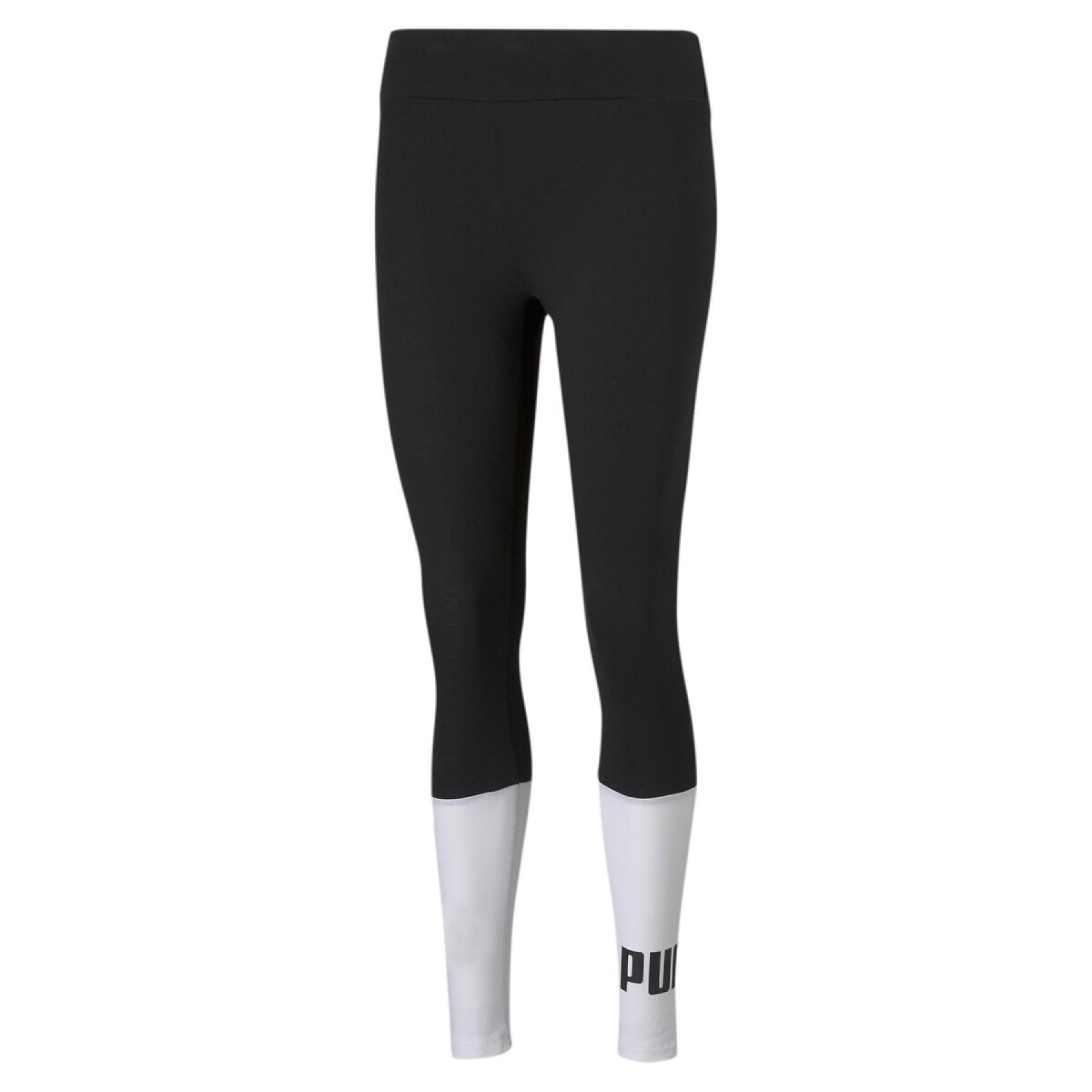 Women's Puma ESS+ Colourblock Leggings