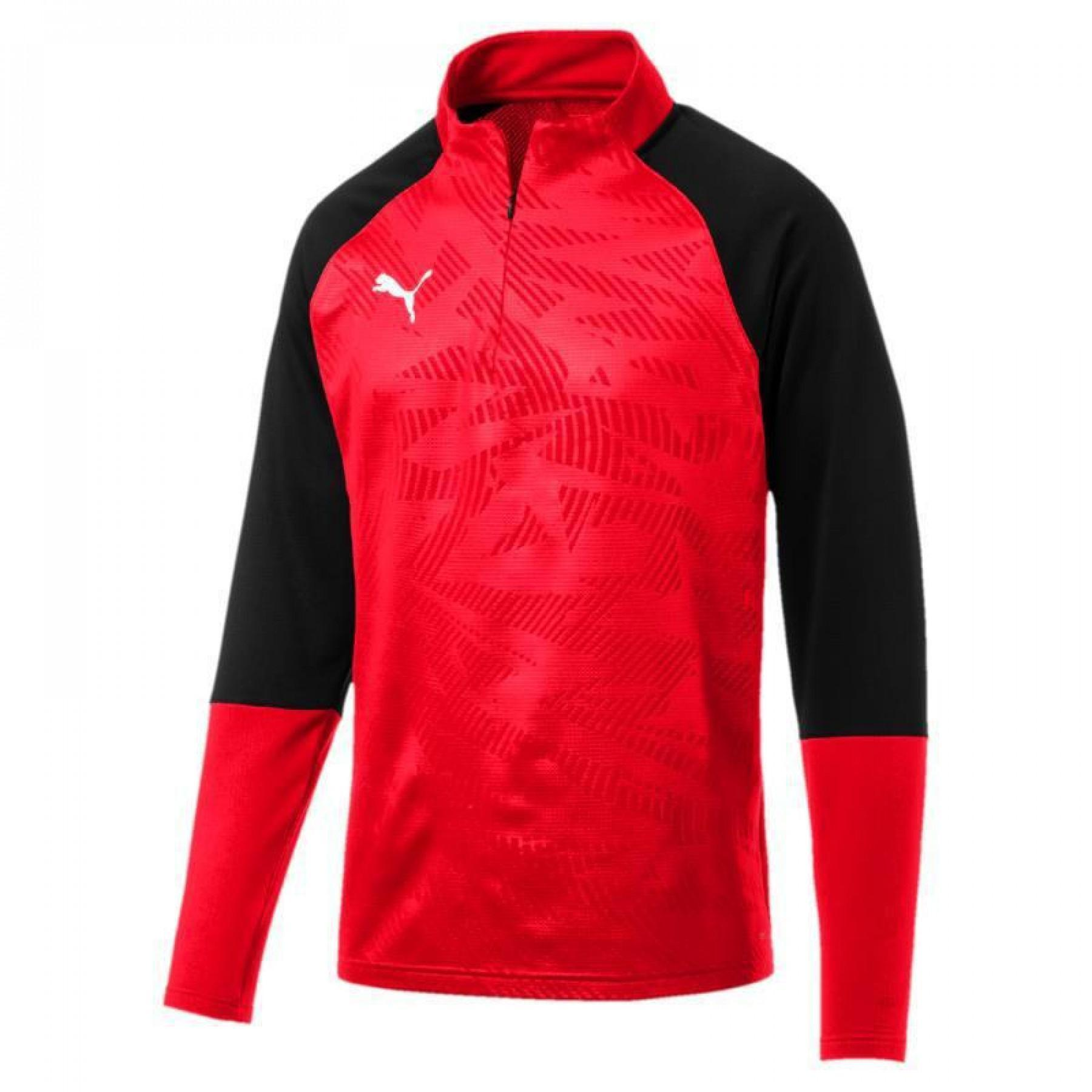 Puma training sweatshirt 1/4 zip CUP