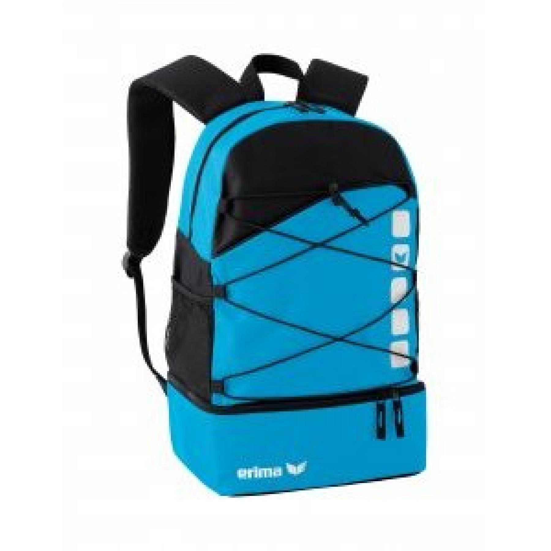 Backpack Erima multifonctions avec compartiment inférieur
