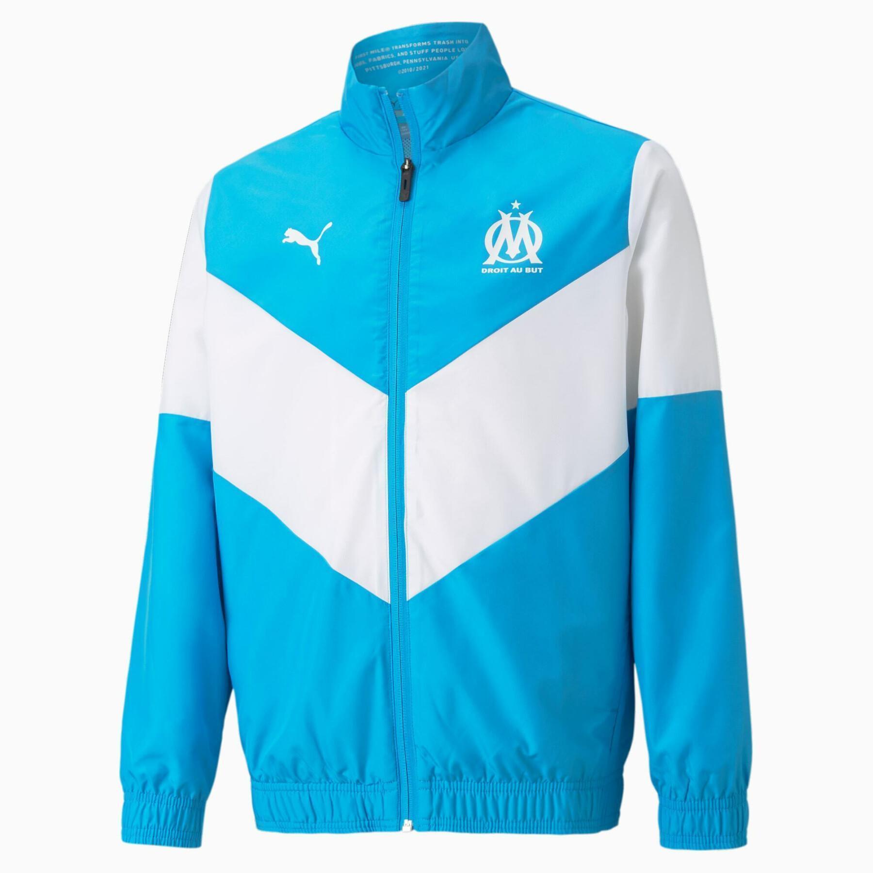 Kids pre-game jacket OM 2021/22