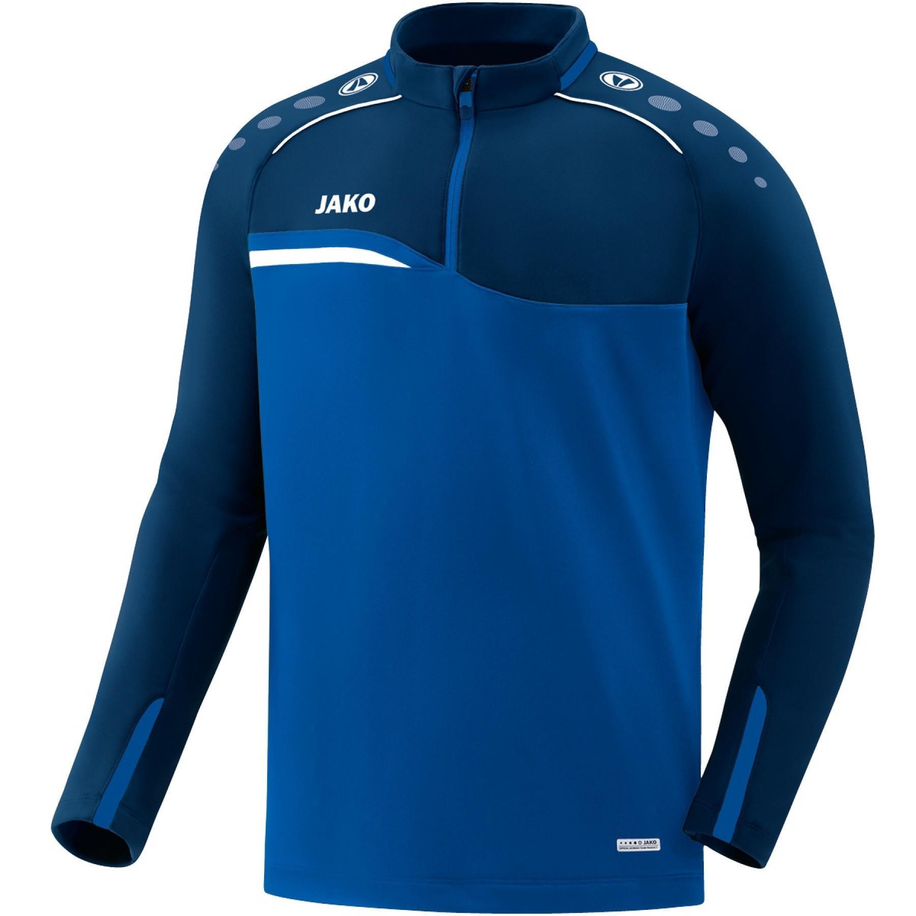 Sweatshirt zip Junior Jako Competition 2.0