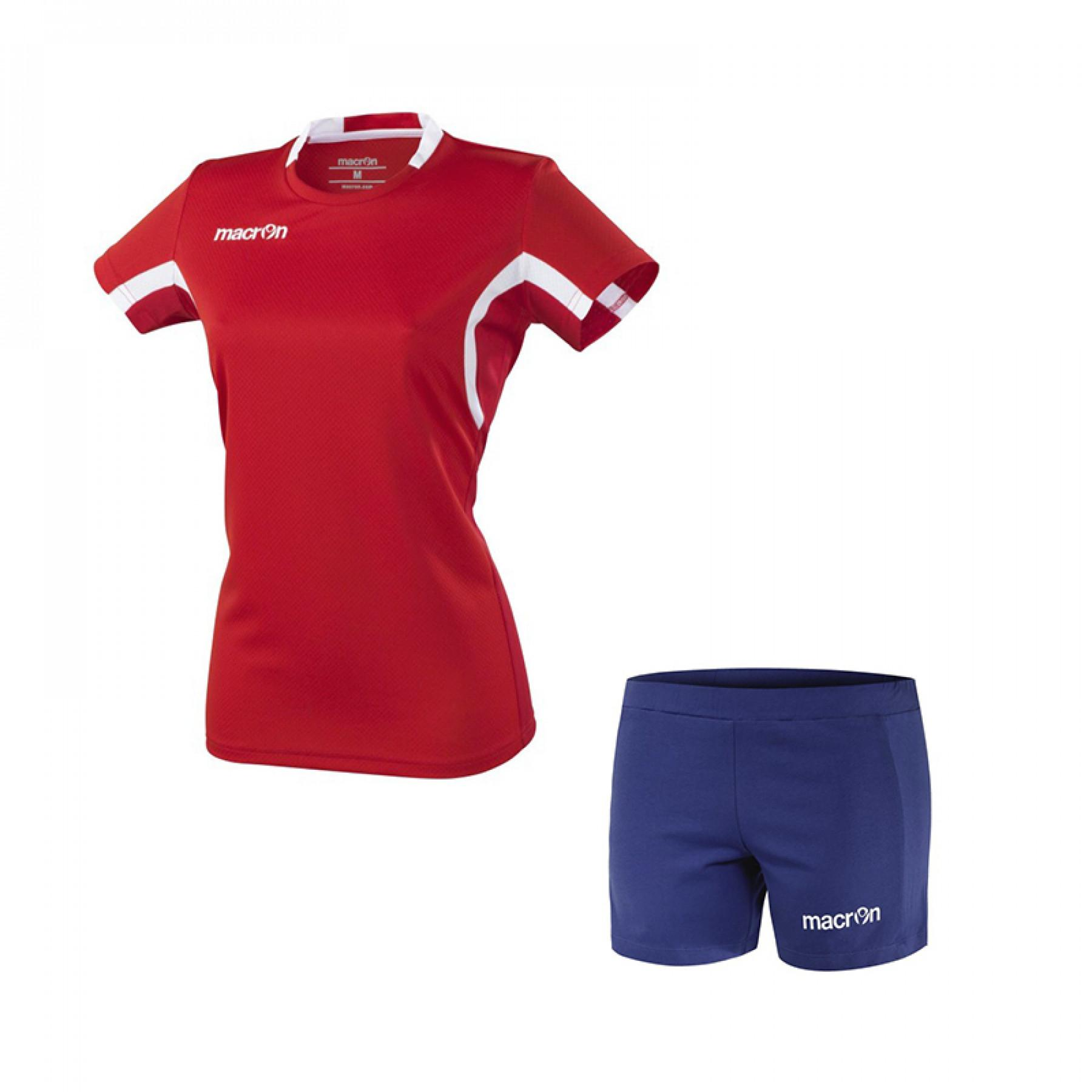 Women's Pack Macron Volley Alkaline