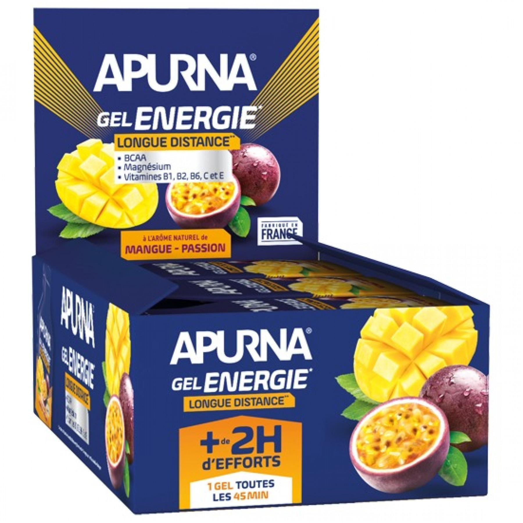 Batch of 24 gels Apurna Energie Mangue Passion- 35g